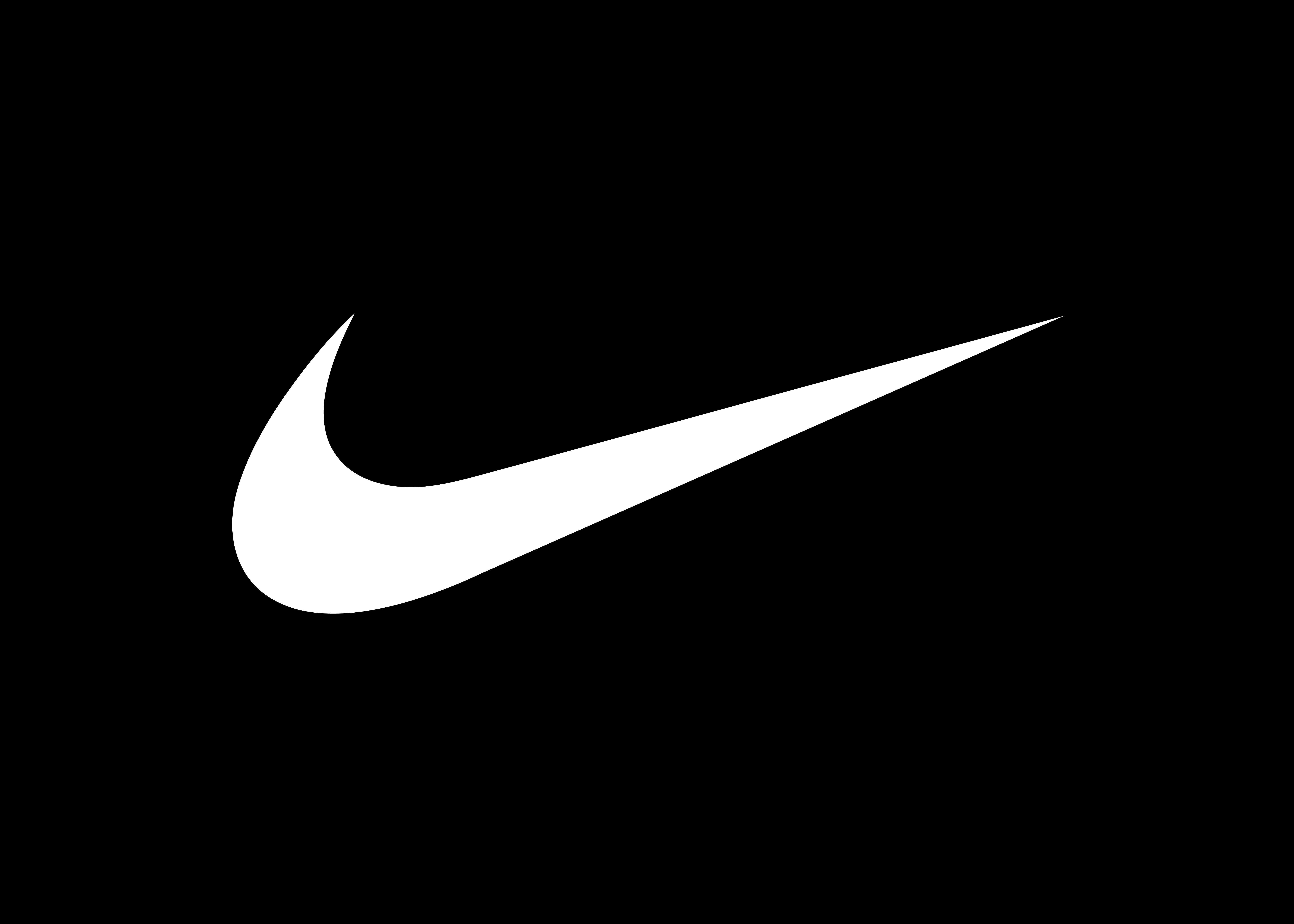 gallery for red nike logo with black background