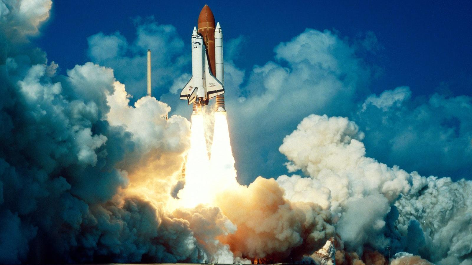 space shuttle space background - photo #3