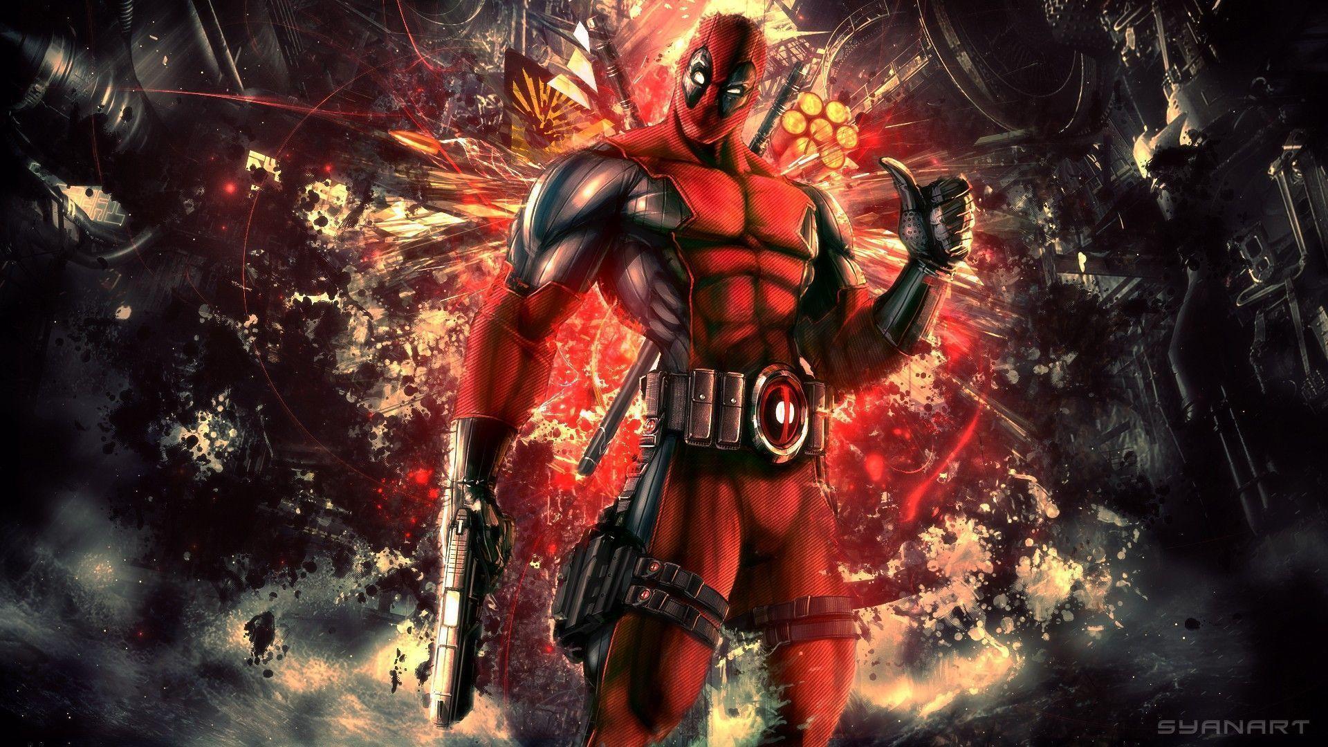 Pix For > Deadpool Christmas Wallpaper