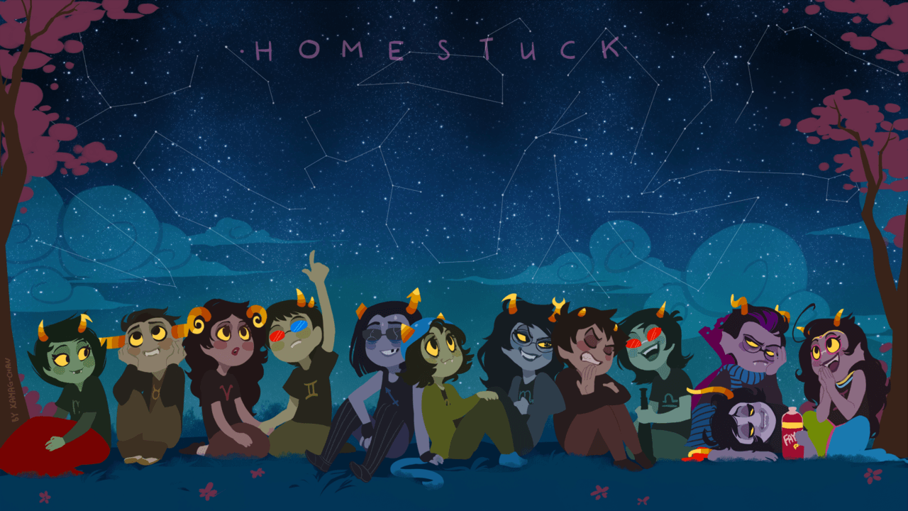 Homestuck Desktop Backgrounds