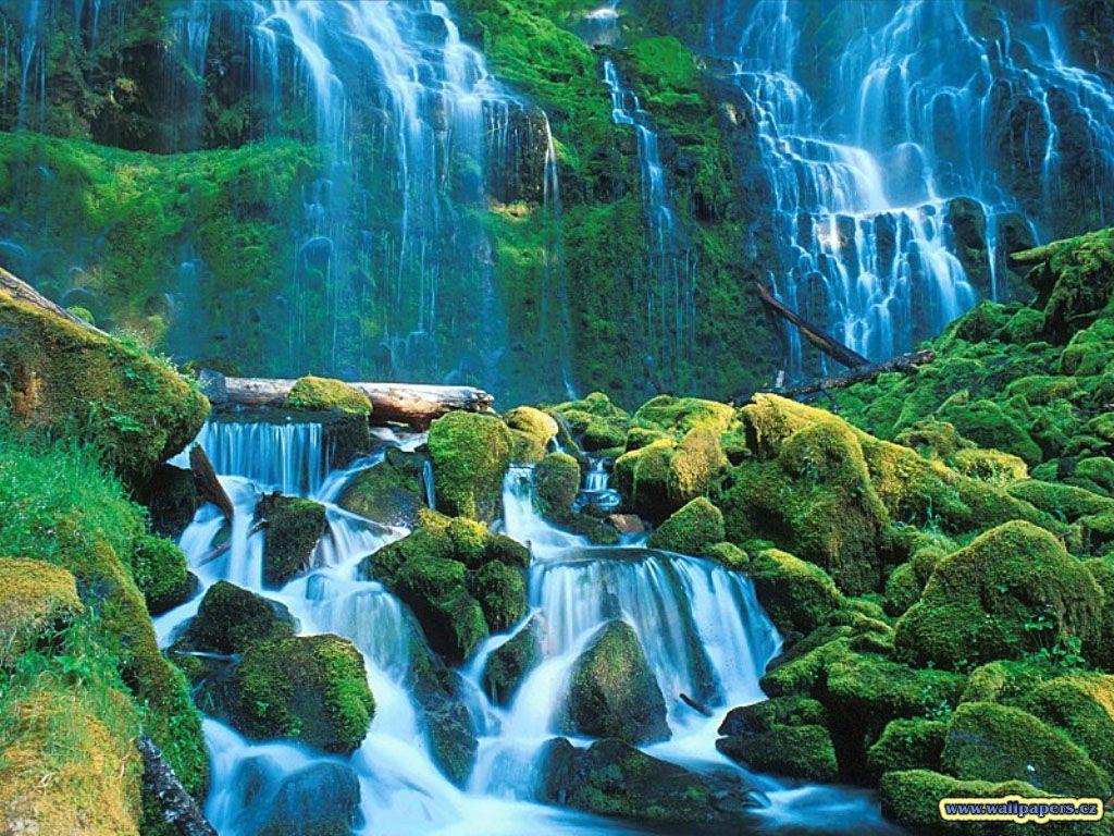 Wallpapers For > 3d Nature Water Wallpaper