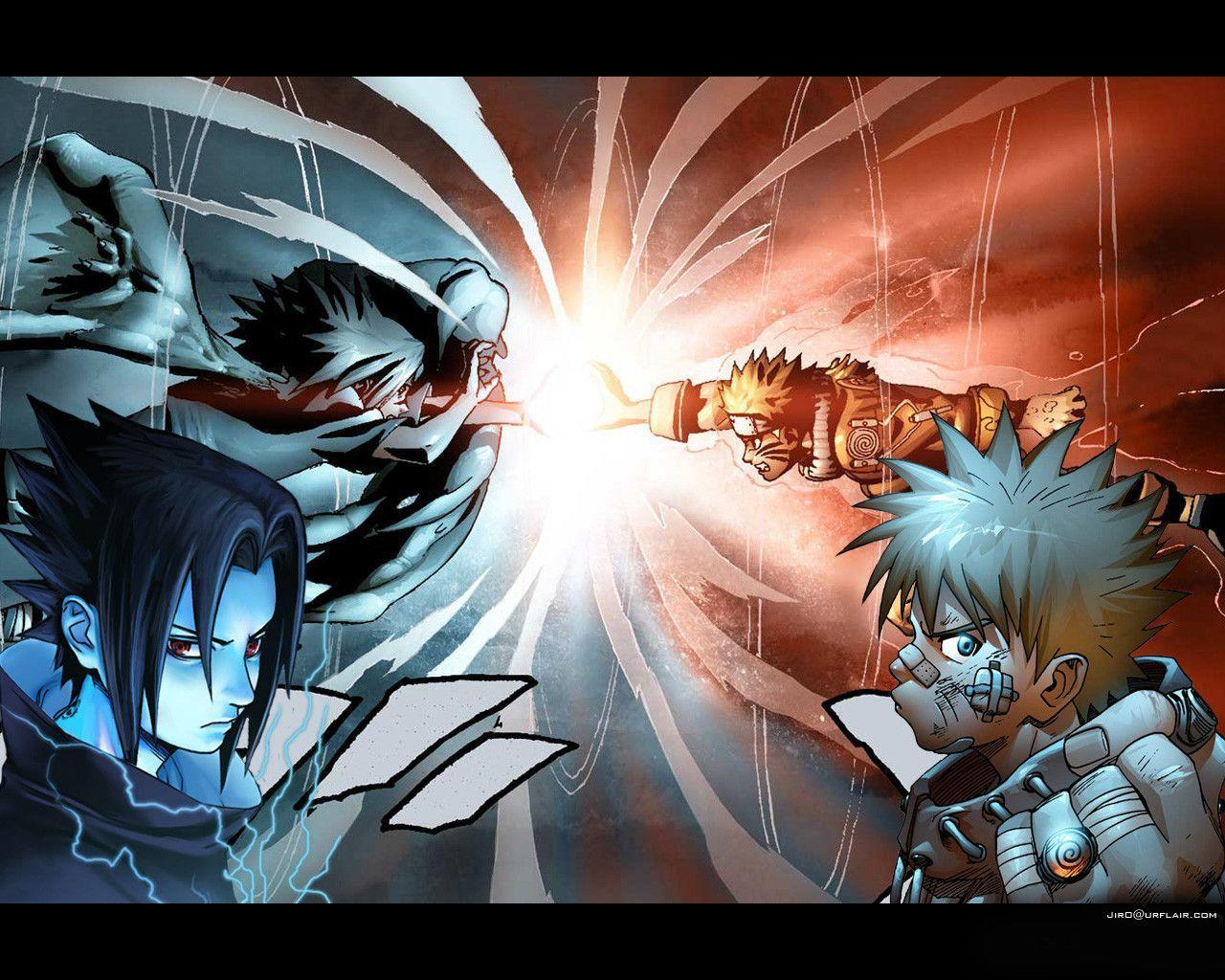 Naruto Vs Sasuke 1 Wallpapers and Pictures