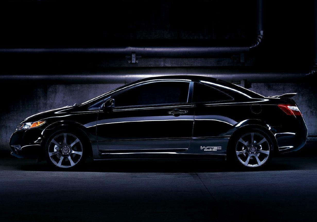Honda Civic Wallpapers Black 1669 Full HD Wallpapers Desktop