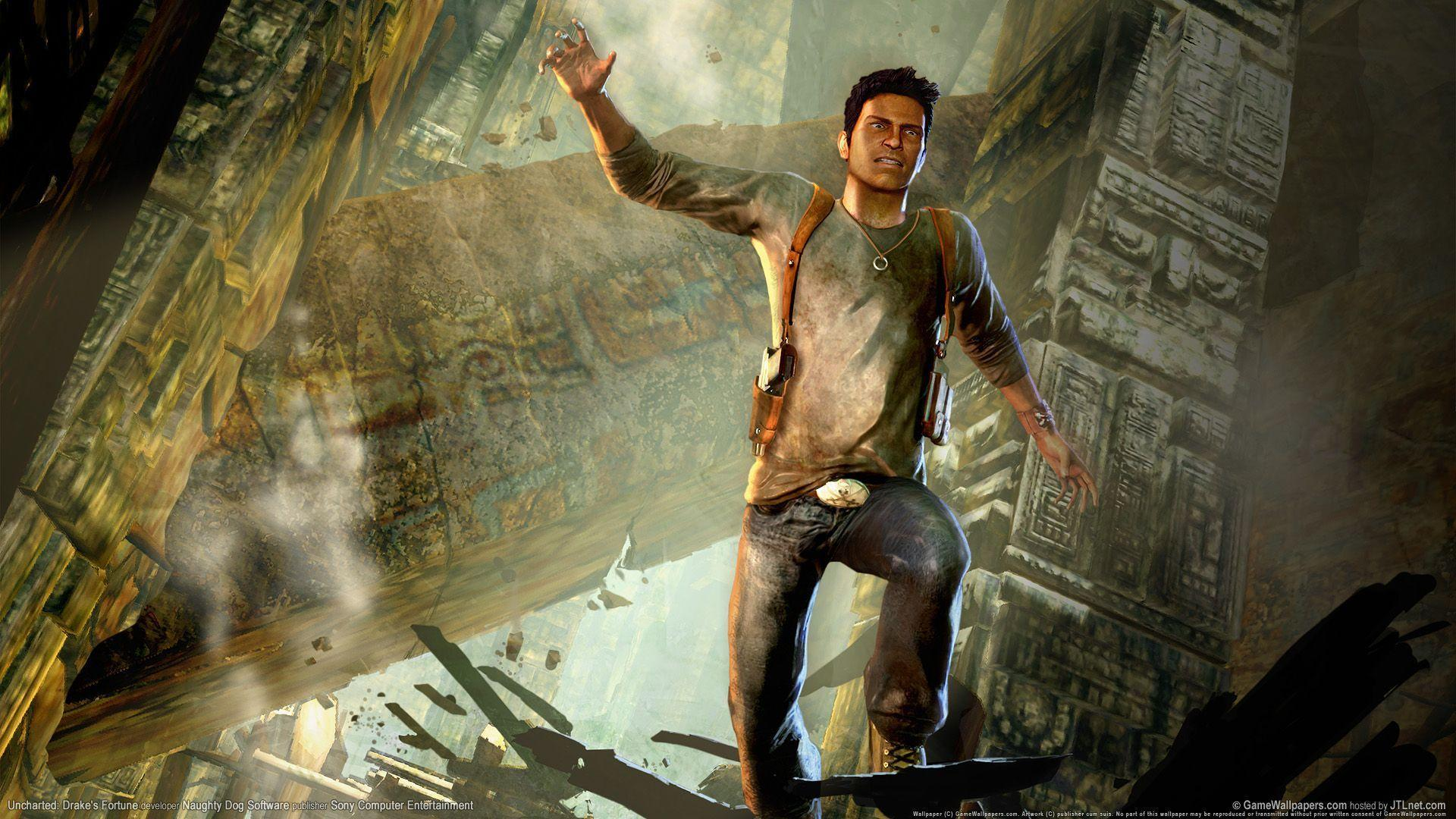 Full HD Wallpaper Uncharted Drakes Fortune 192 #5622 HD Game ...
