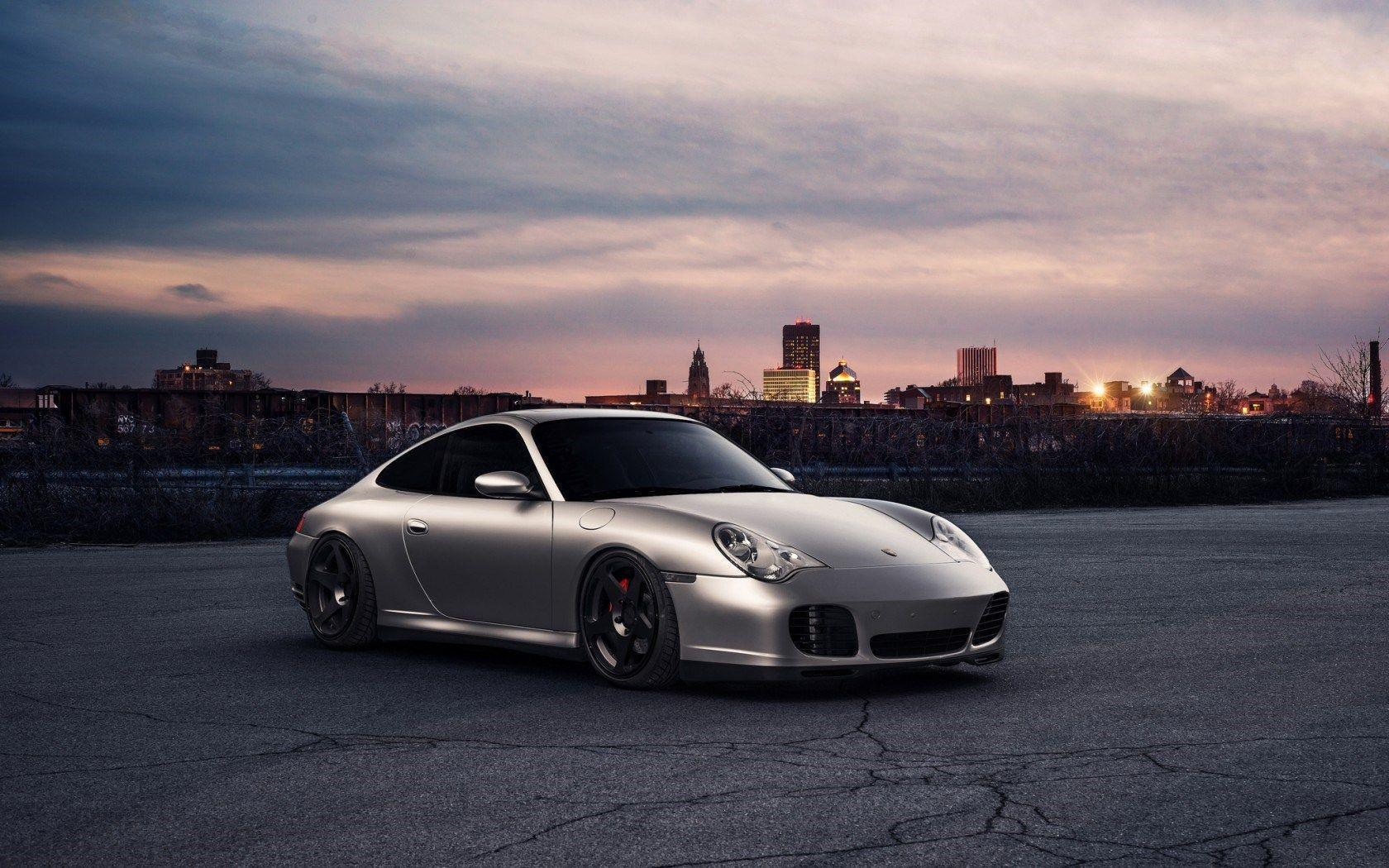 Porsche 911 Front City HD Wallpaper - FreeHDWalls