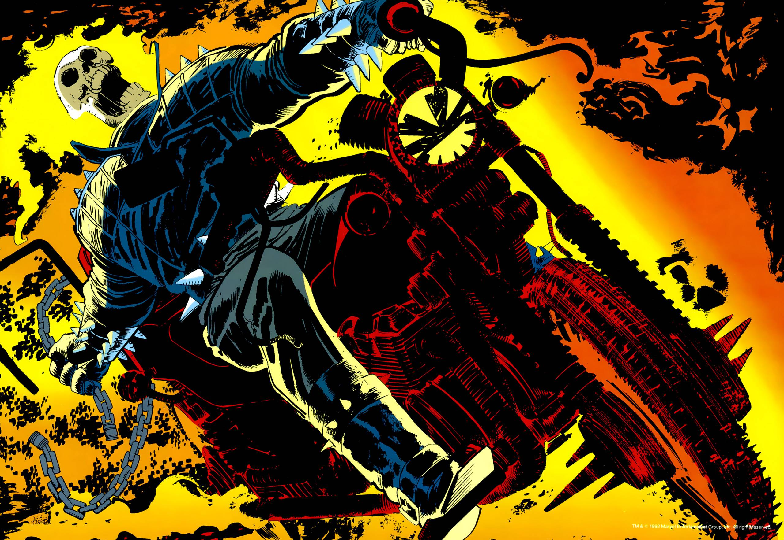 ghost rider comic wallpapers - wallpaper cave
