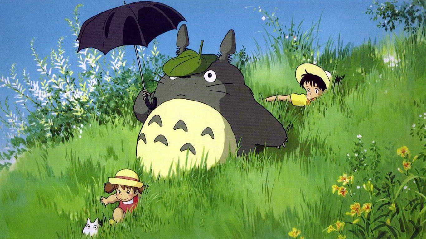 Download Free Neighbor Totoro Wallpaper 1366x768