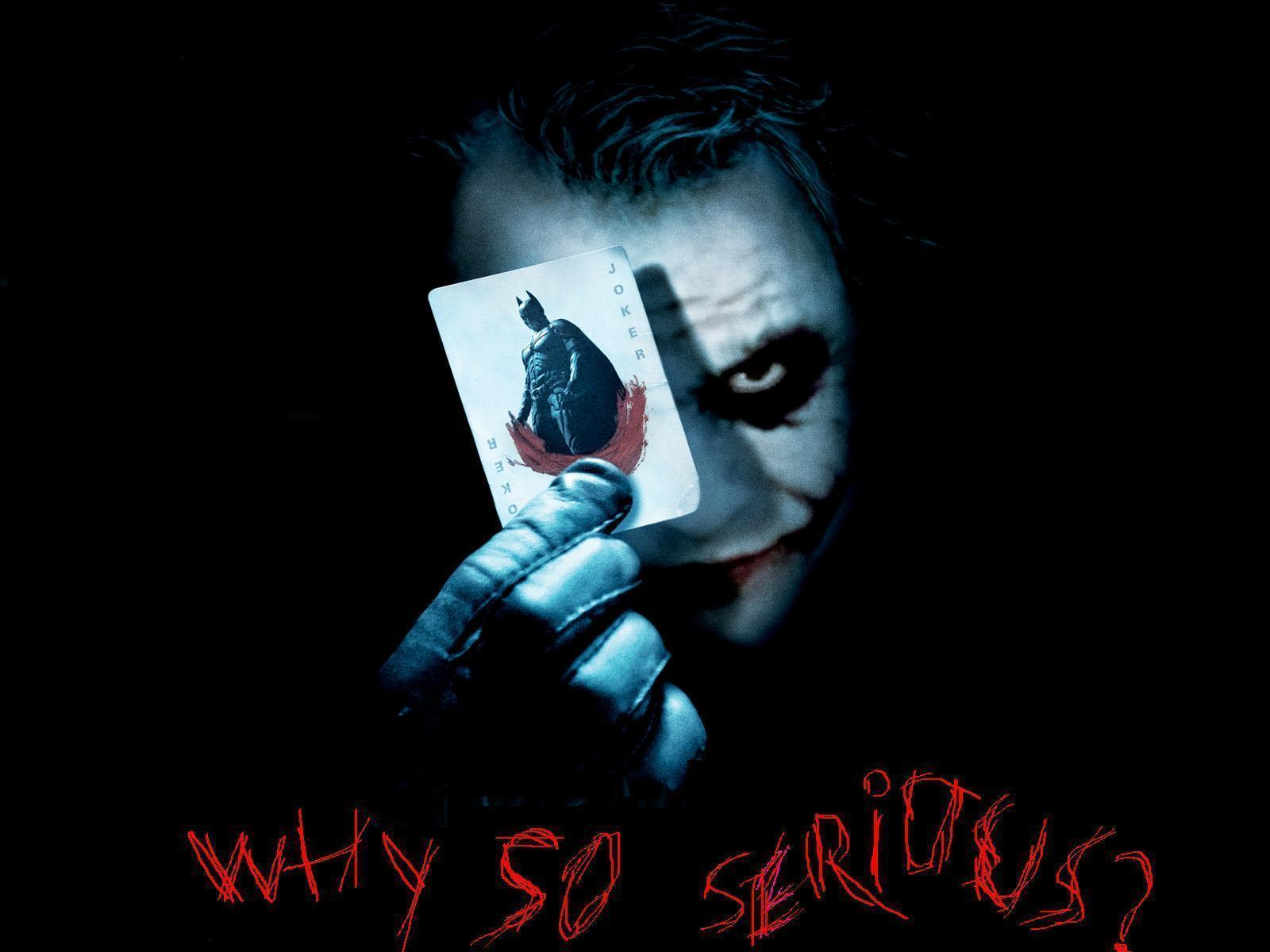 Logo logo wallpaper collection why so serious wallpaper poster