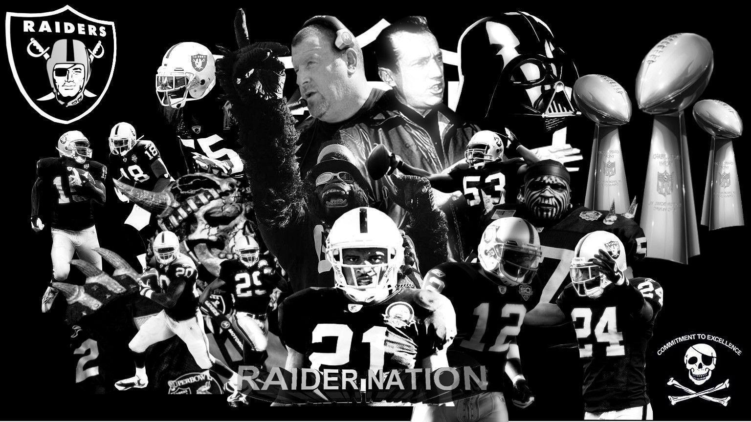 Enjoy our wallpapers of the week!!! Oakland Raiders wallpapers
