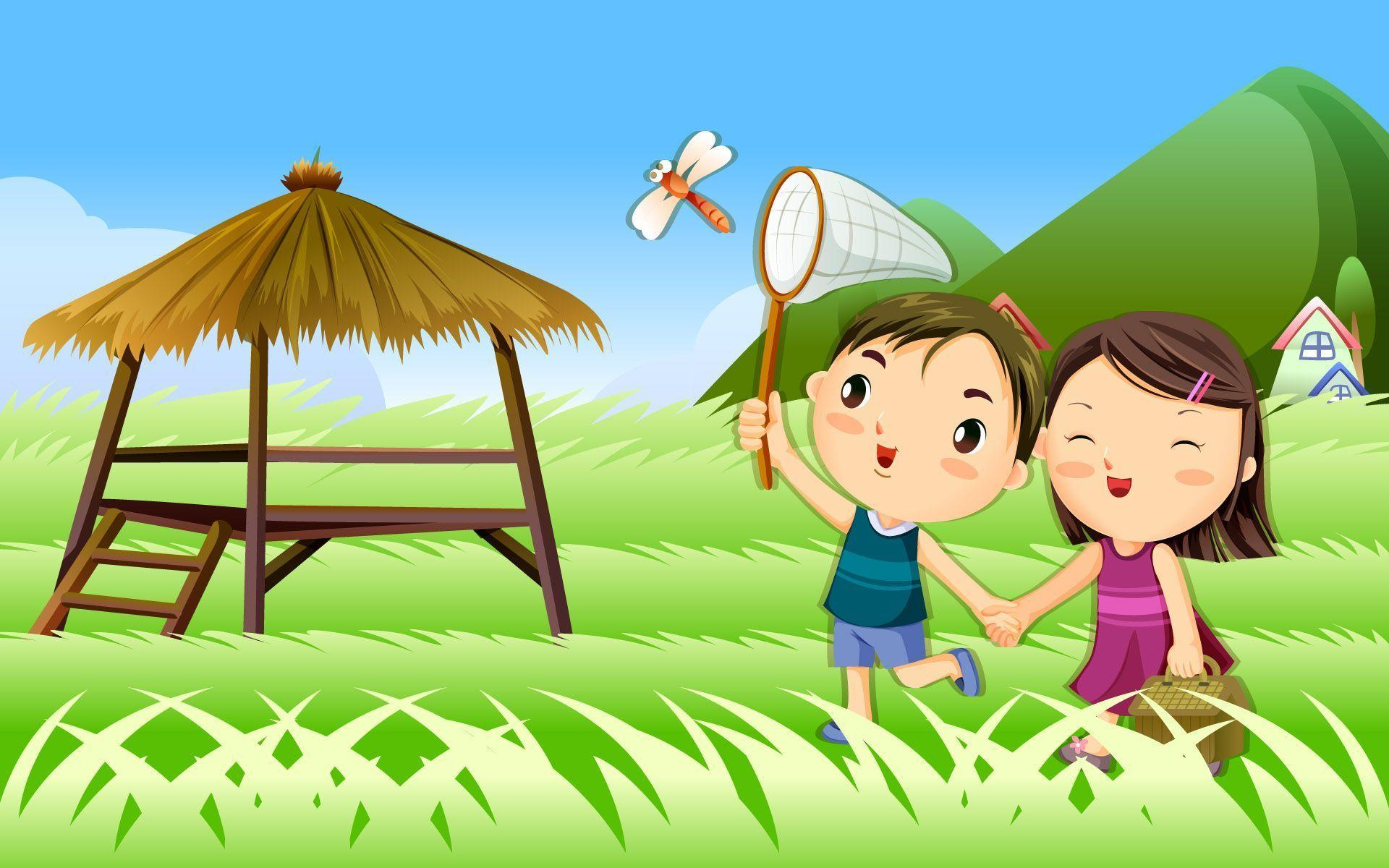 Cute Couple Cartoon Wallpapers