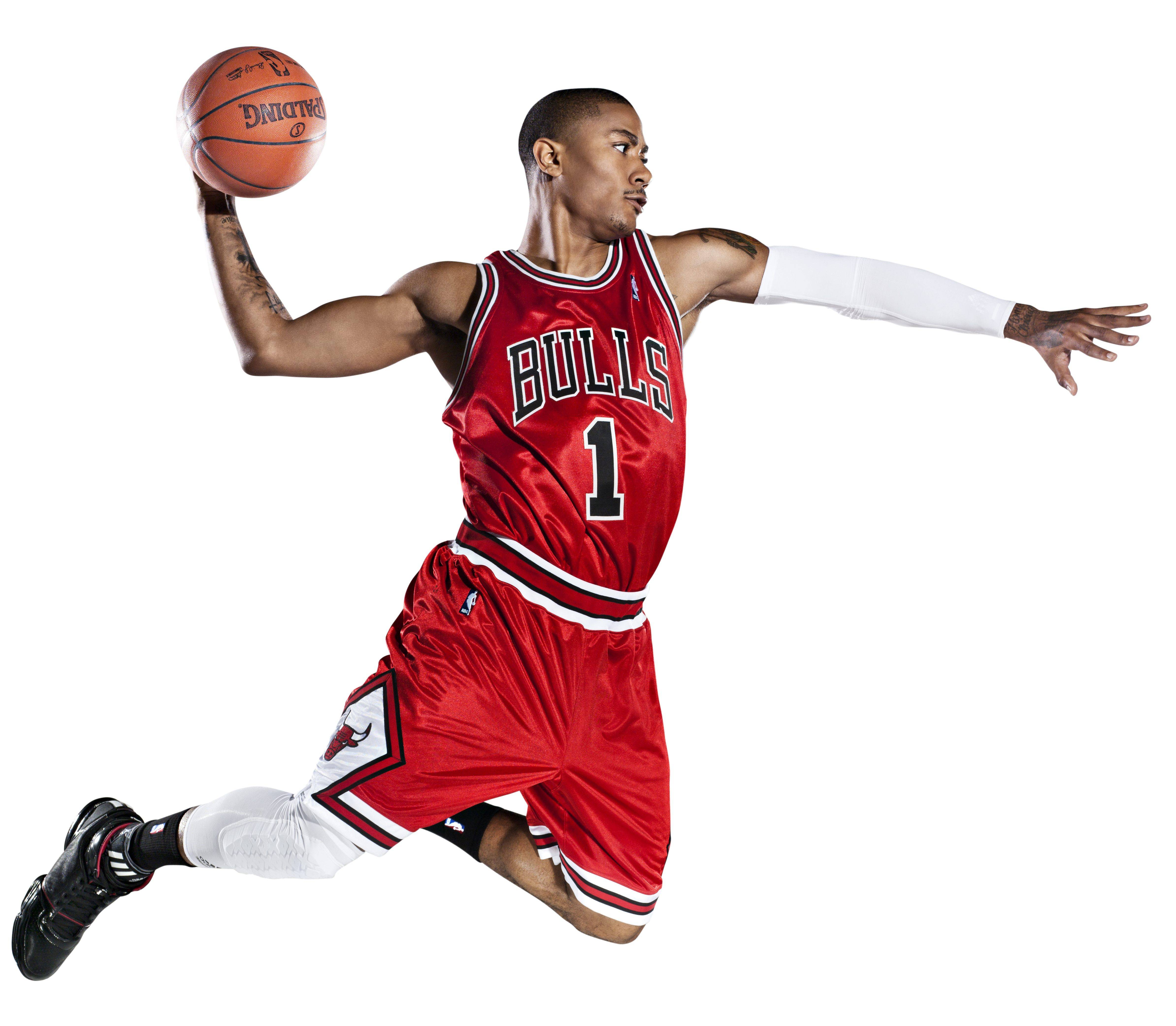 Knight Basketball Player Wallpaper: Derrick Rose Dunk Wallpapers