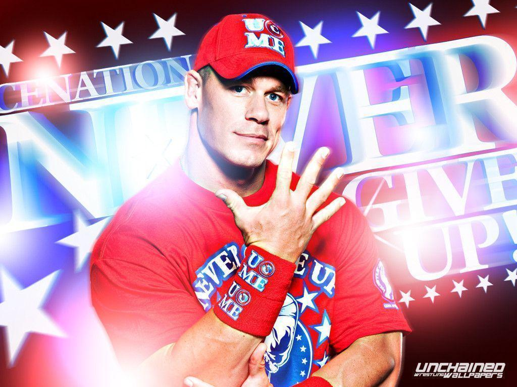 "WWE John Cena ""Never Give Up"" Wallpapers 3 ~ Unchained"