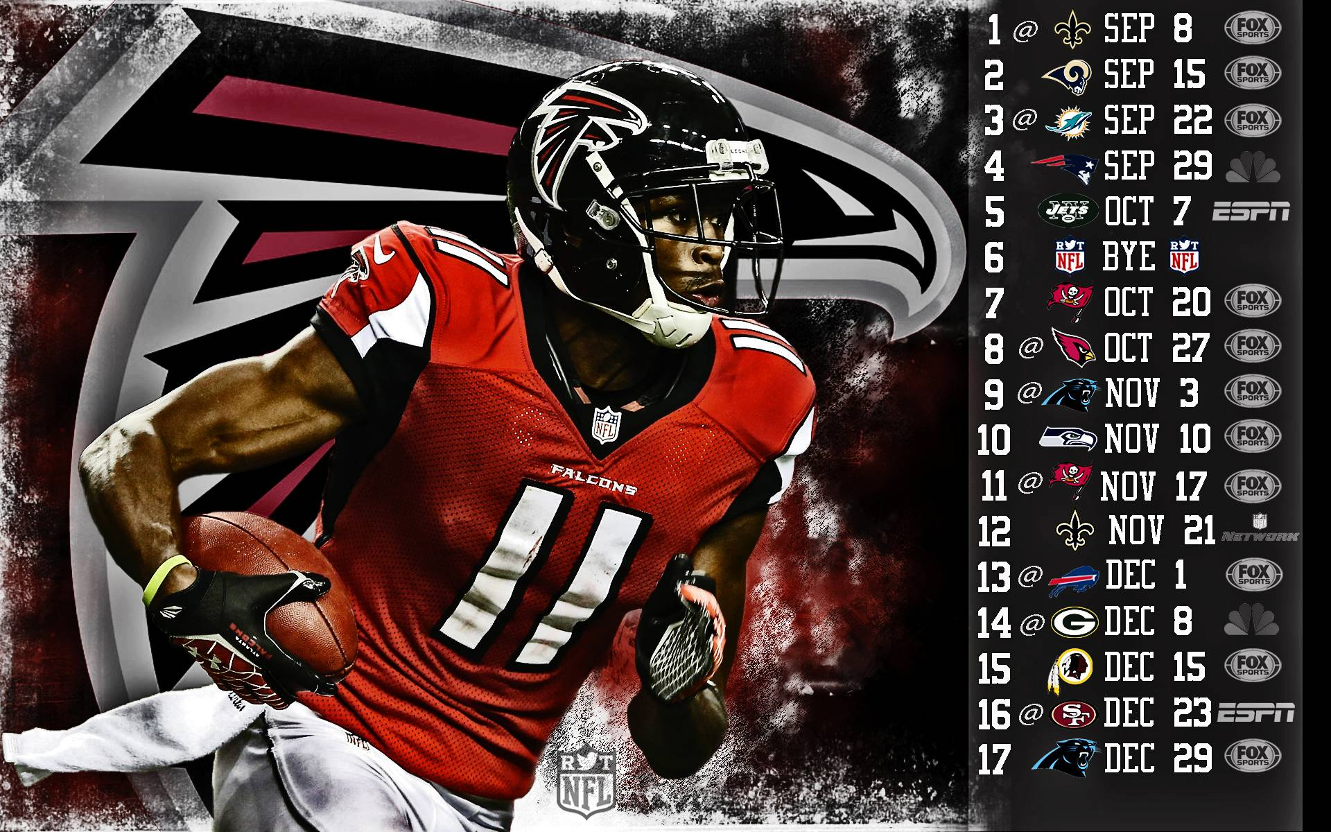 2013 Atlanta Falcons football nfl wallpapers