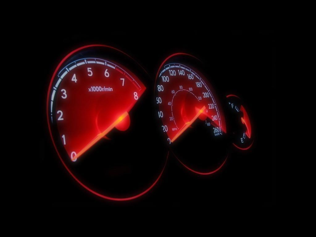Pix For > Car Speedometer Wallpapers