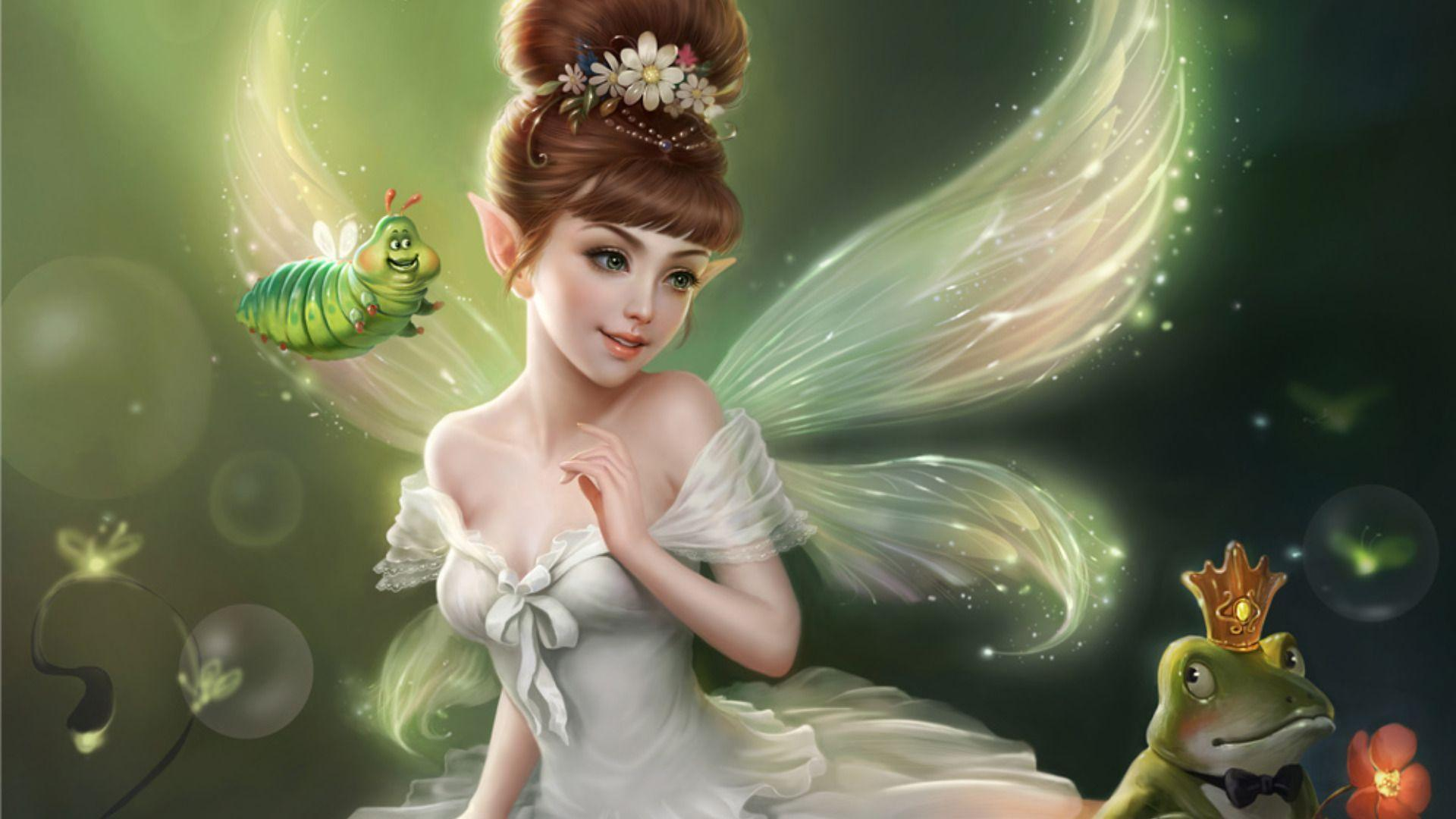 Beautiful Fairies Wallpapers - Wallpaper Cave
