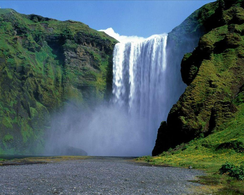 Images For > Moving Waterfalls Wallpaper