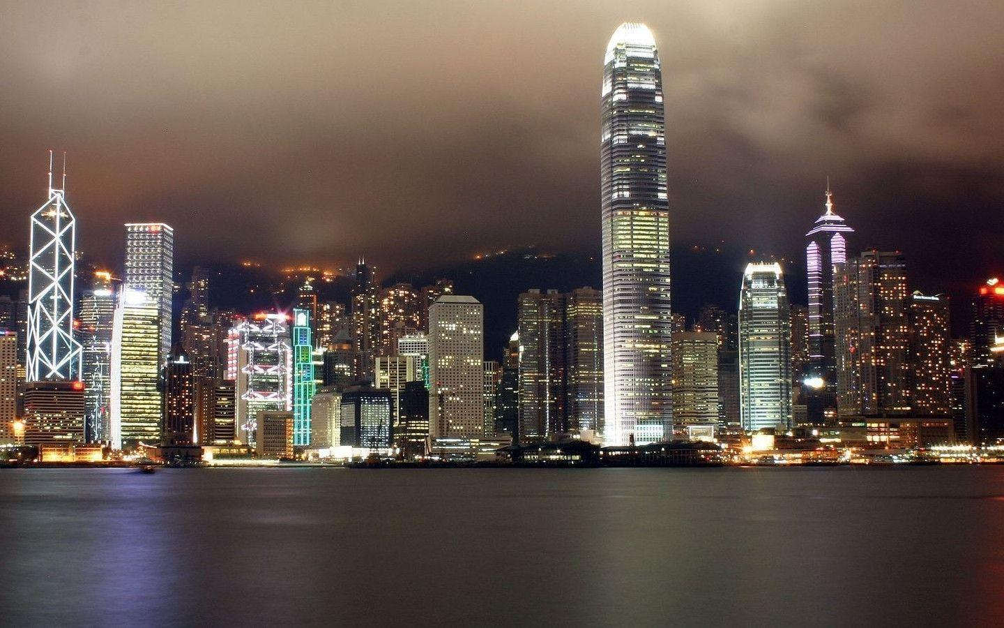 Hong Kong City Night MacBook Pro wallpapers