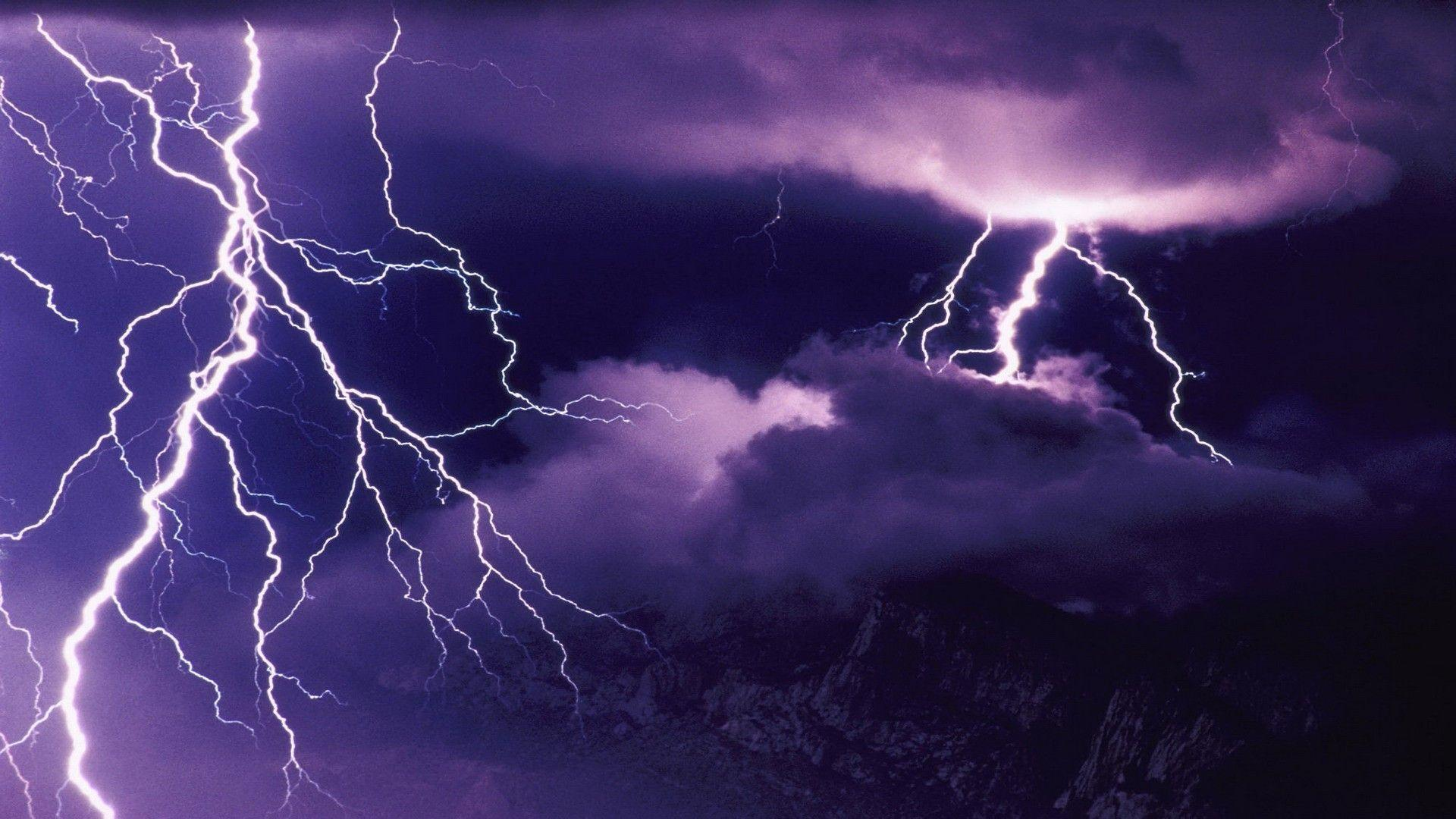 Wallpapers For > Lightning Storm Wallpaper Hd