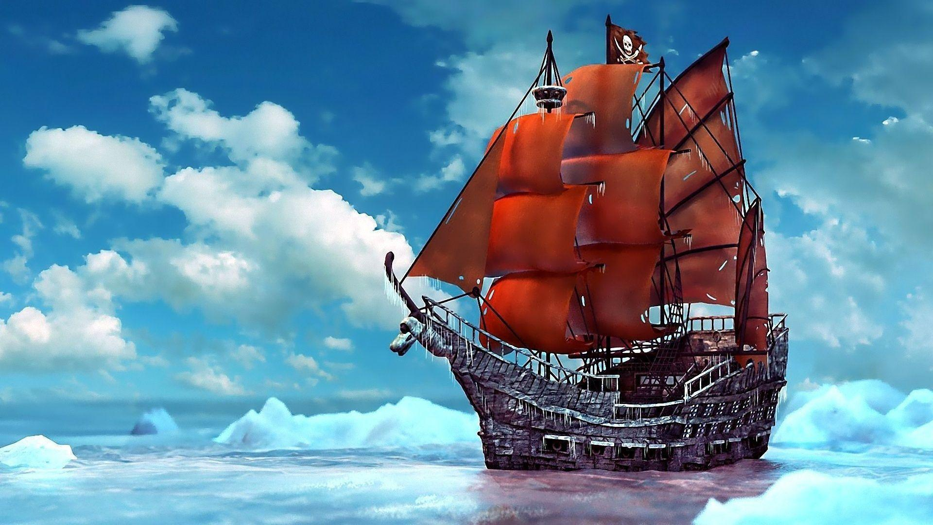 Pirate Ship Backgrounds - Wallpaper Cave