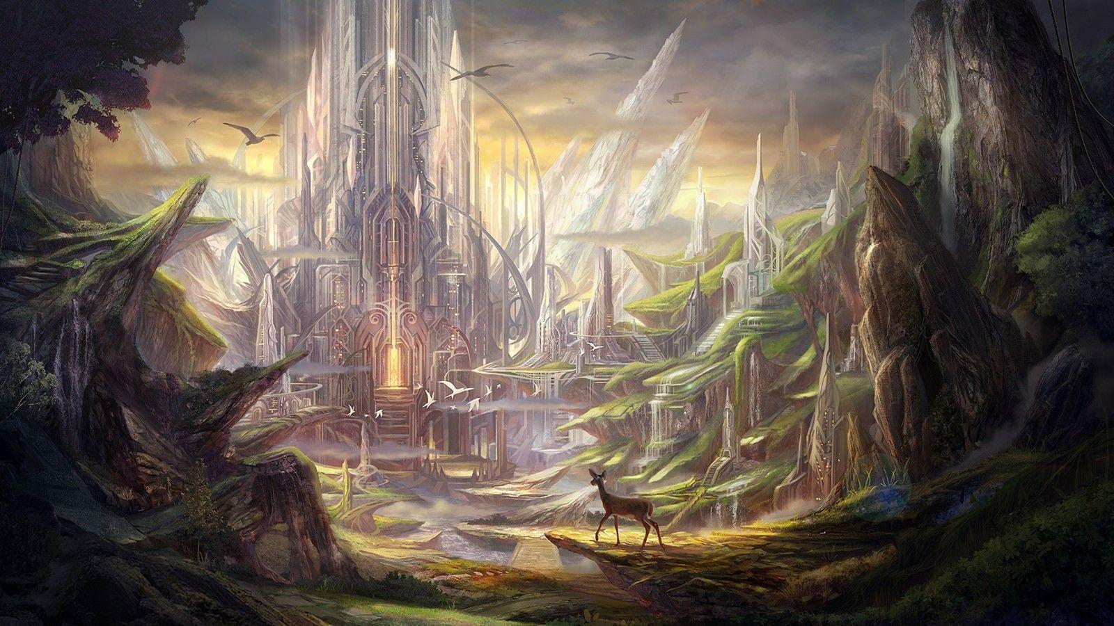 Fantasy Landscapes Wallpapers › Findorget