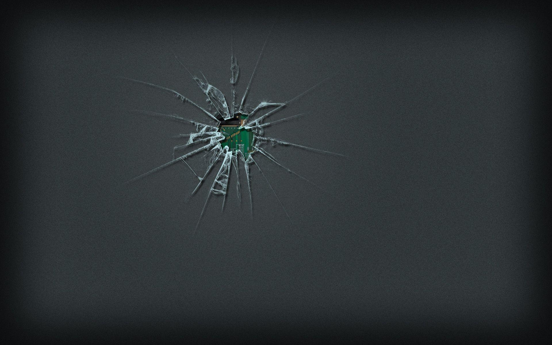 cracked screen wallpaper for - photo #17