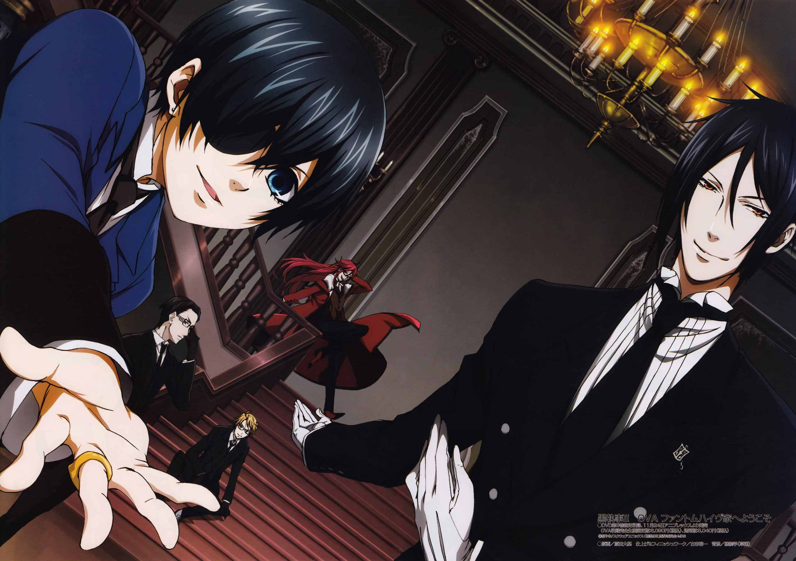 black butler wallpaper hd background wallmeta