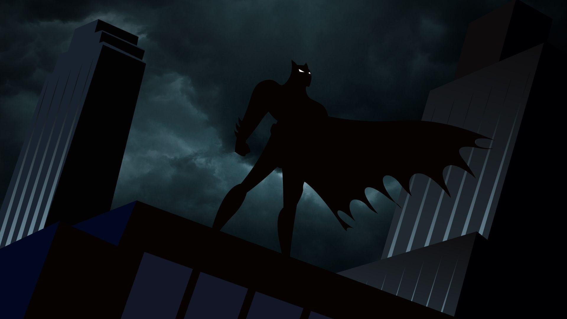 Batman The Animated Series Gotham Wallpaper