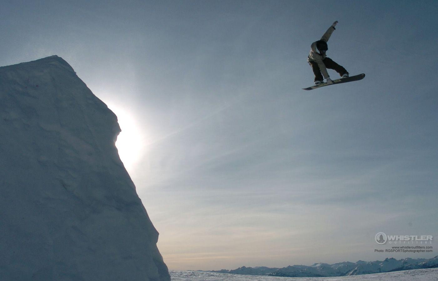 Snowboard Wallpaper of Whistler Canada - Whistler Outfitters ...