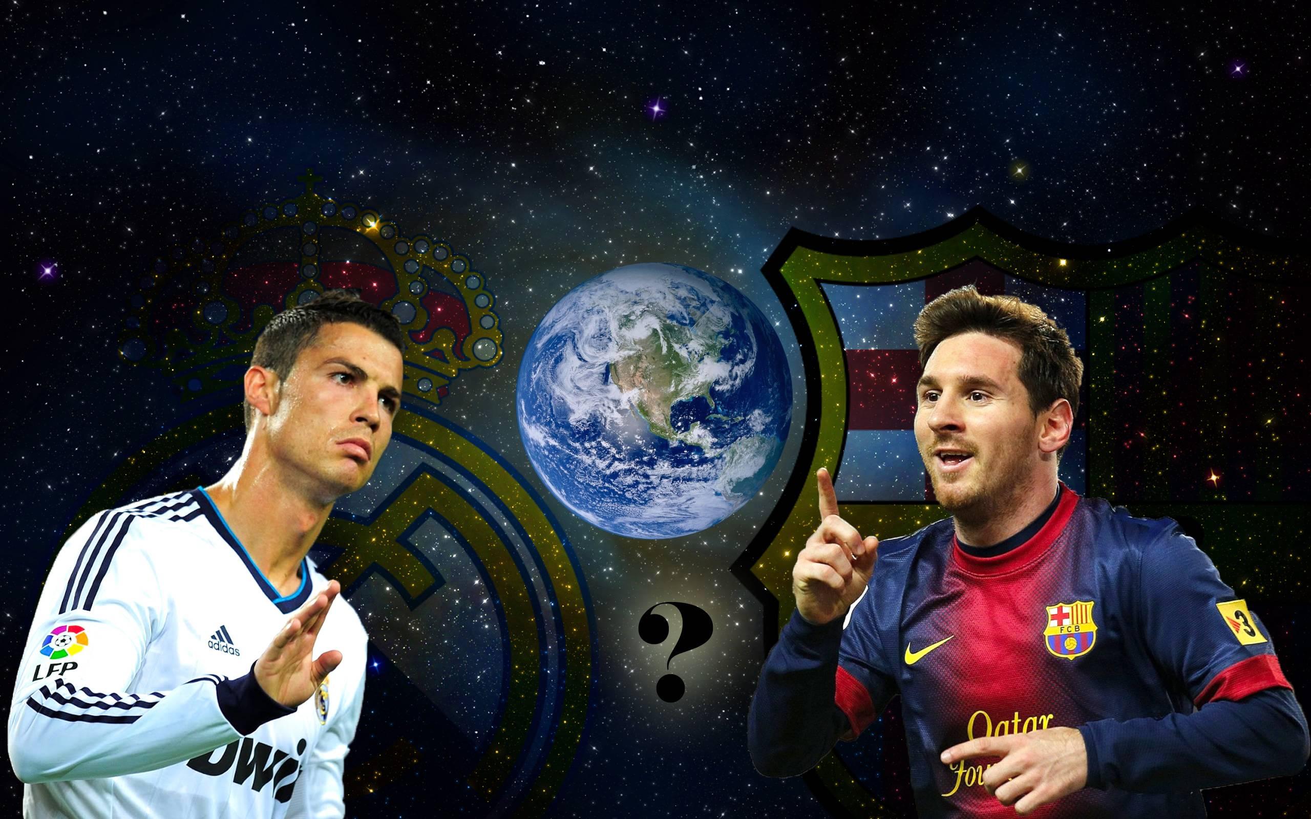 Cristiano Ronaldo Vs Lionel Messi 2015 Wallpapers - Wallpaper Cave