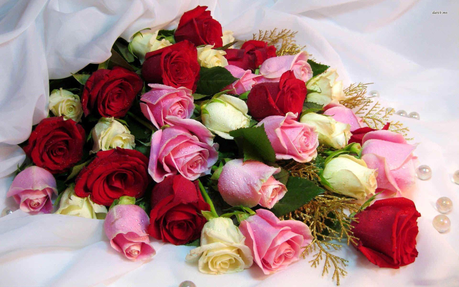 Of Roses Wallpaper