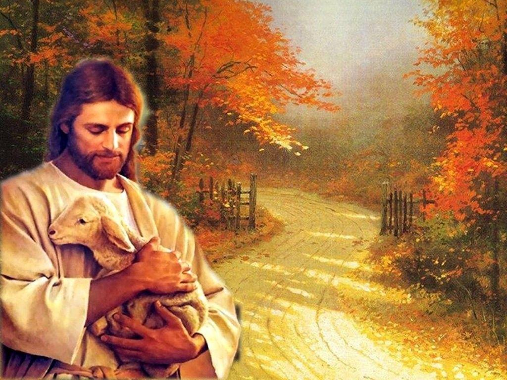 Free Beautiful Jesus Autumn Wallpaper & HD pictures | Download HD ...