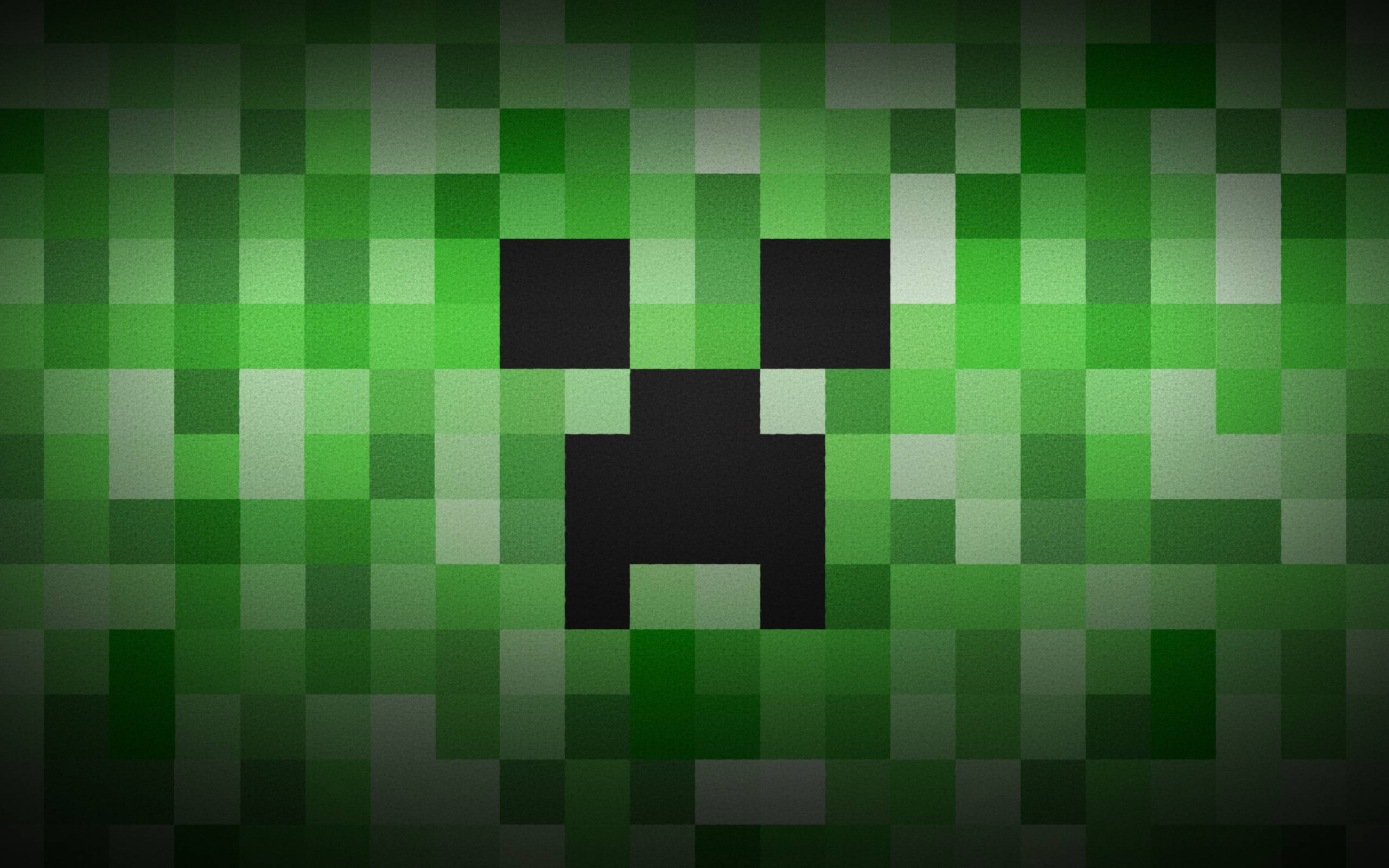 Wallpapers For > Minecraft Wallpaper Creeper Face