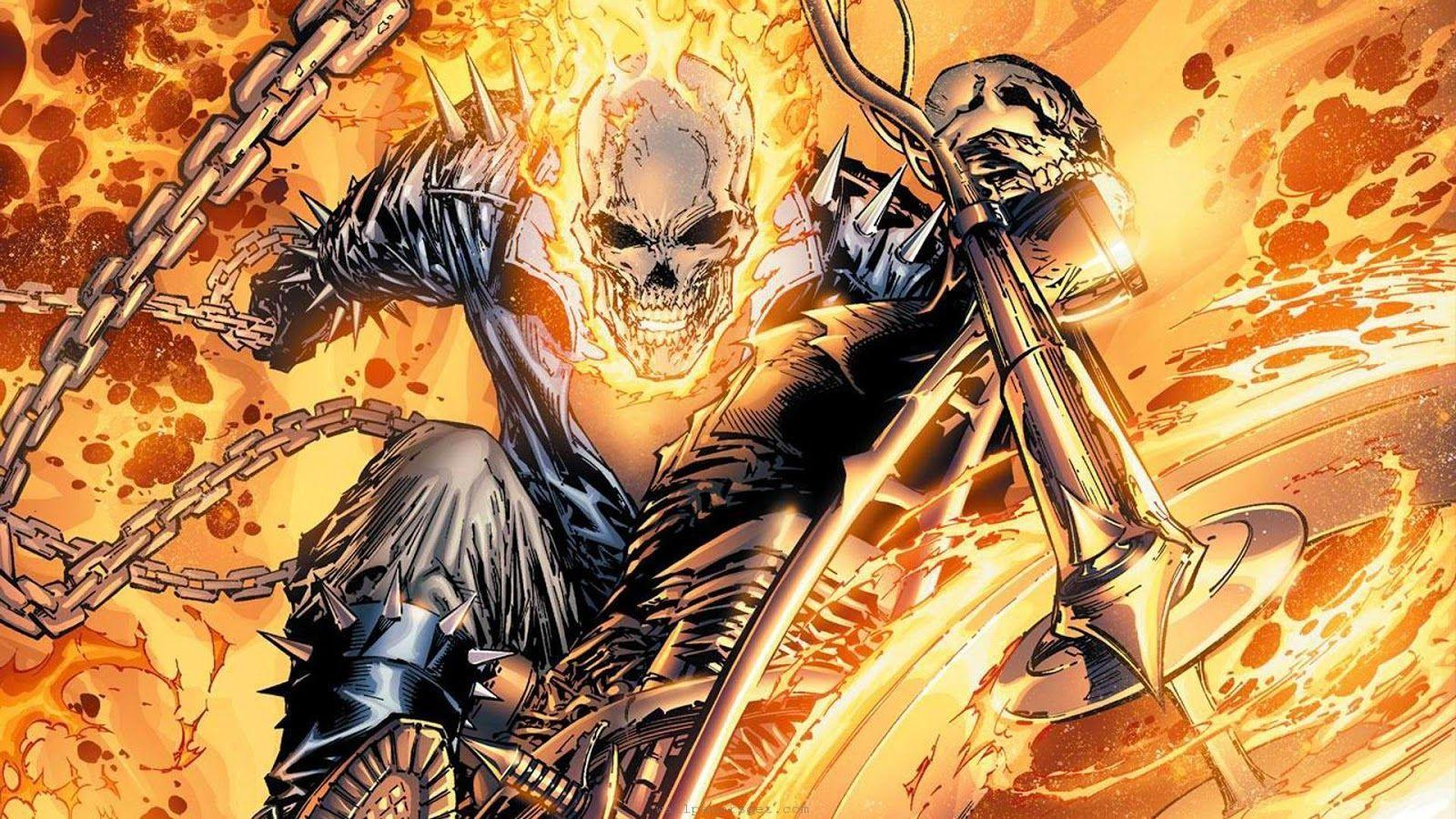 Free HD Wallpapers Ghost Rider 2 Collection