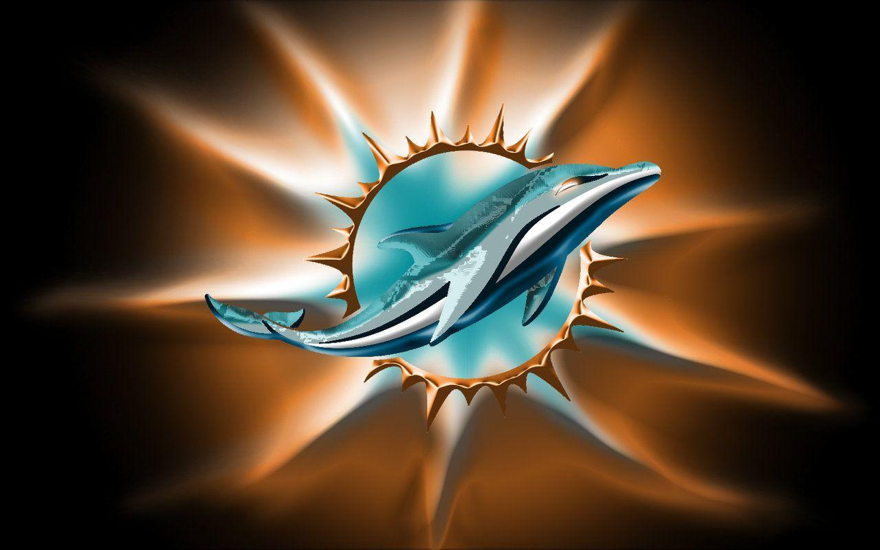 Miami Dolphins New Logo Wallpapers