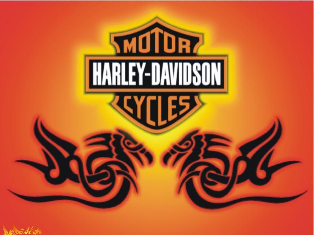 Tulisan Harley Davidson