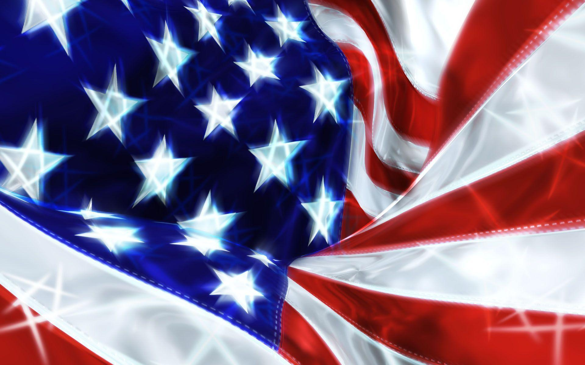 American Flag Fantasy Wallpapers Widescreen