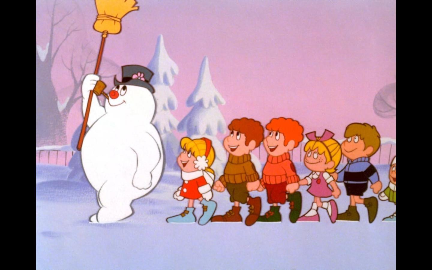"Pic of the Day: ♫ ""Frosty the Snowman / Was a jolly happy soul"