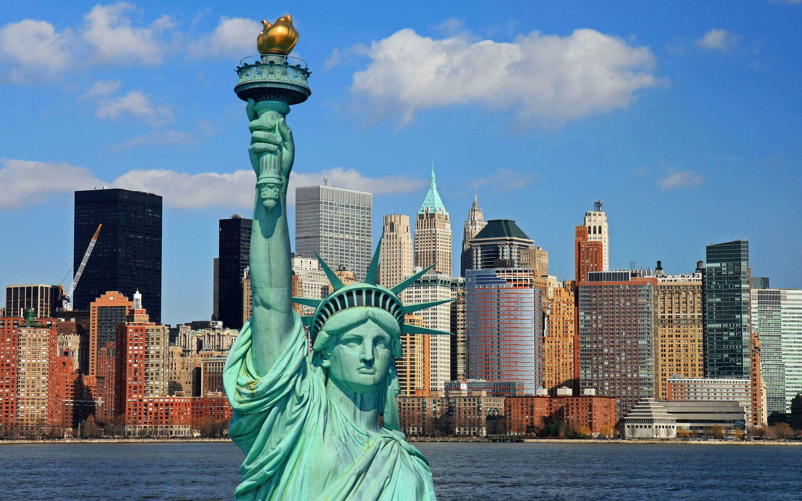 New York City Statue Of Liberty wallpapers