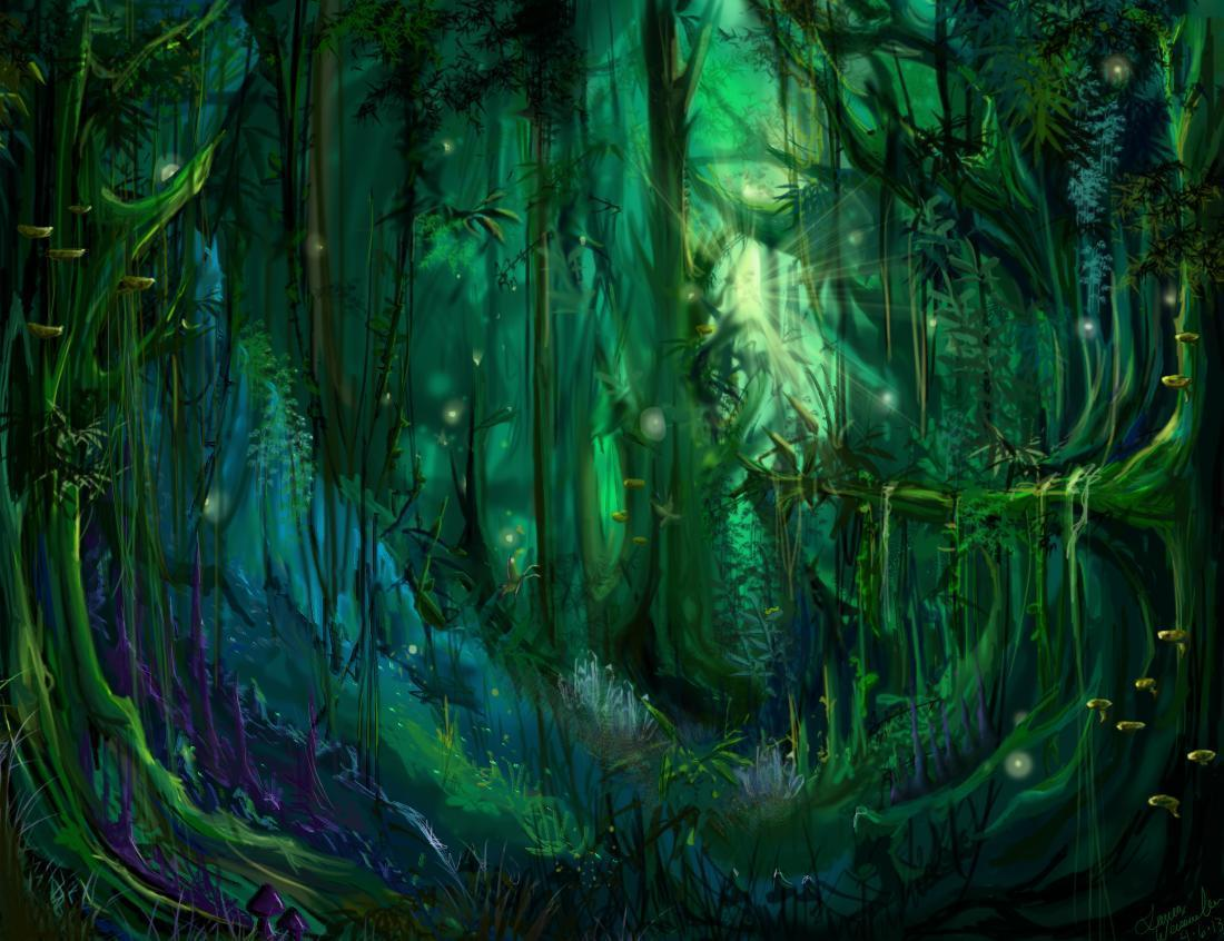 Enchanted Forest Hd 1080P 12 HD Wallpapers