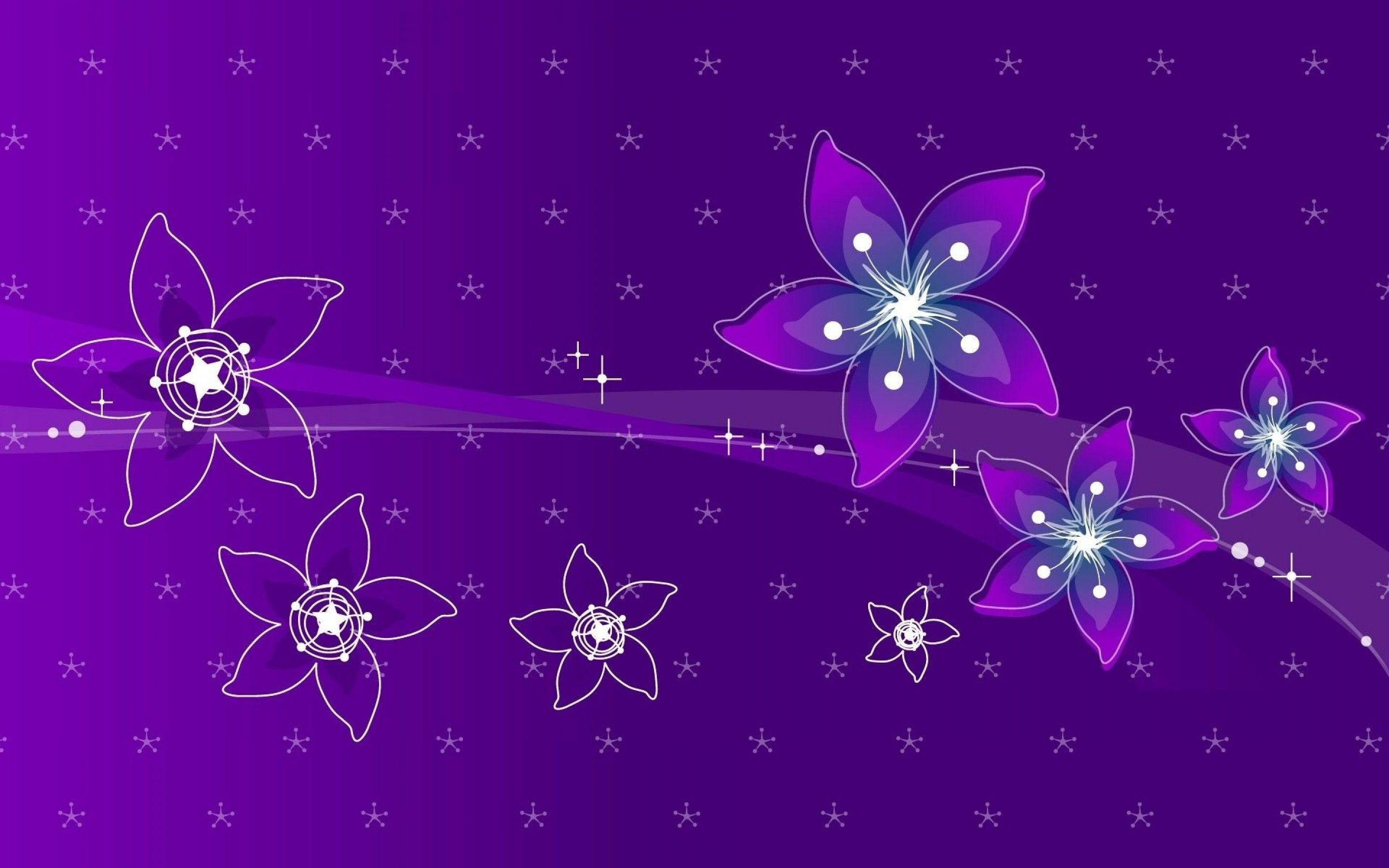 Violet Flower Wallpapers