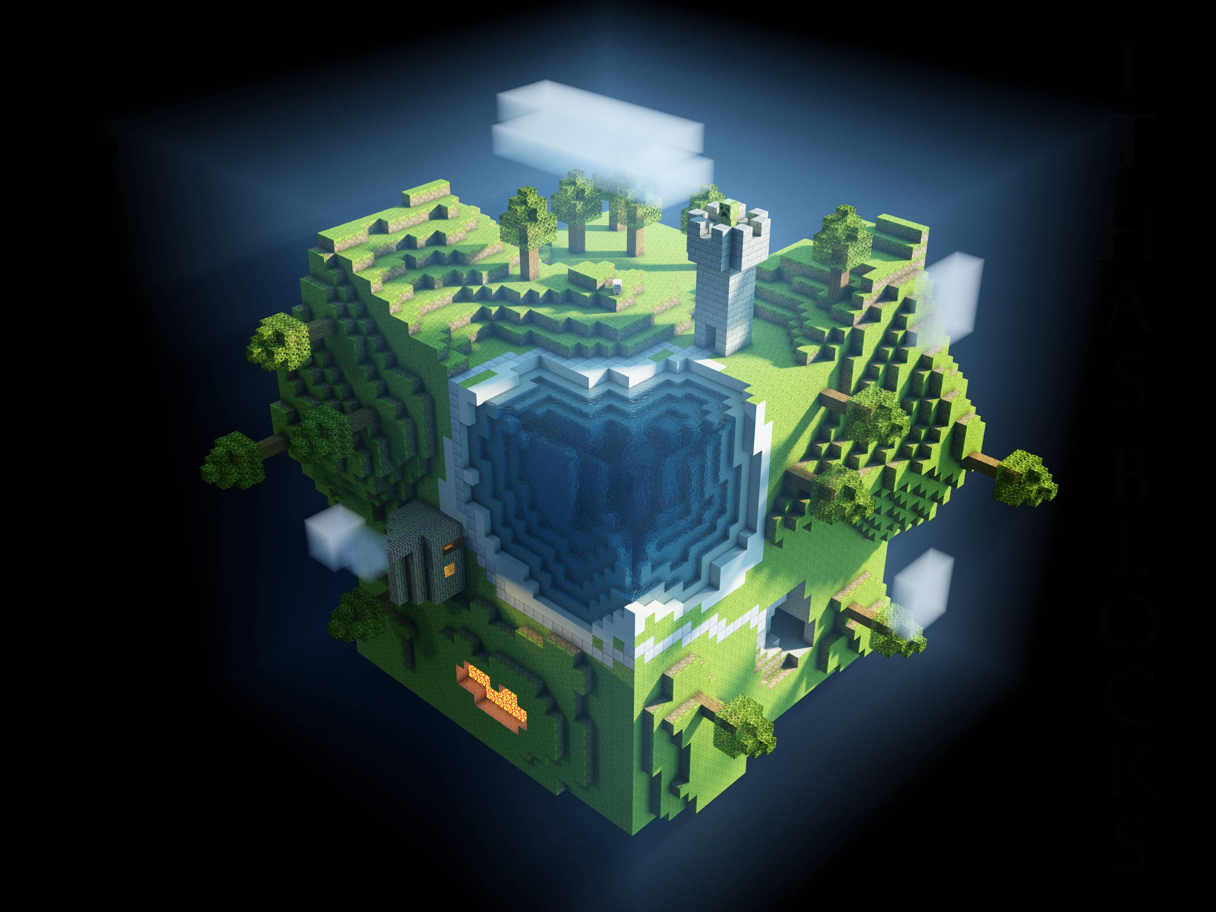 Minecraft Wallpaper 25 1080p 1920x1080 HD For