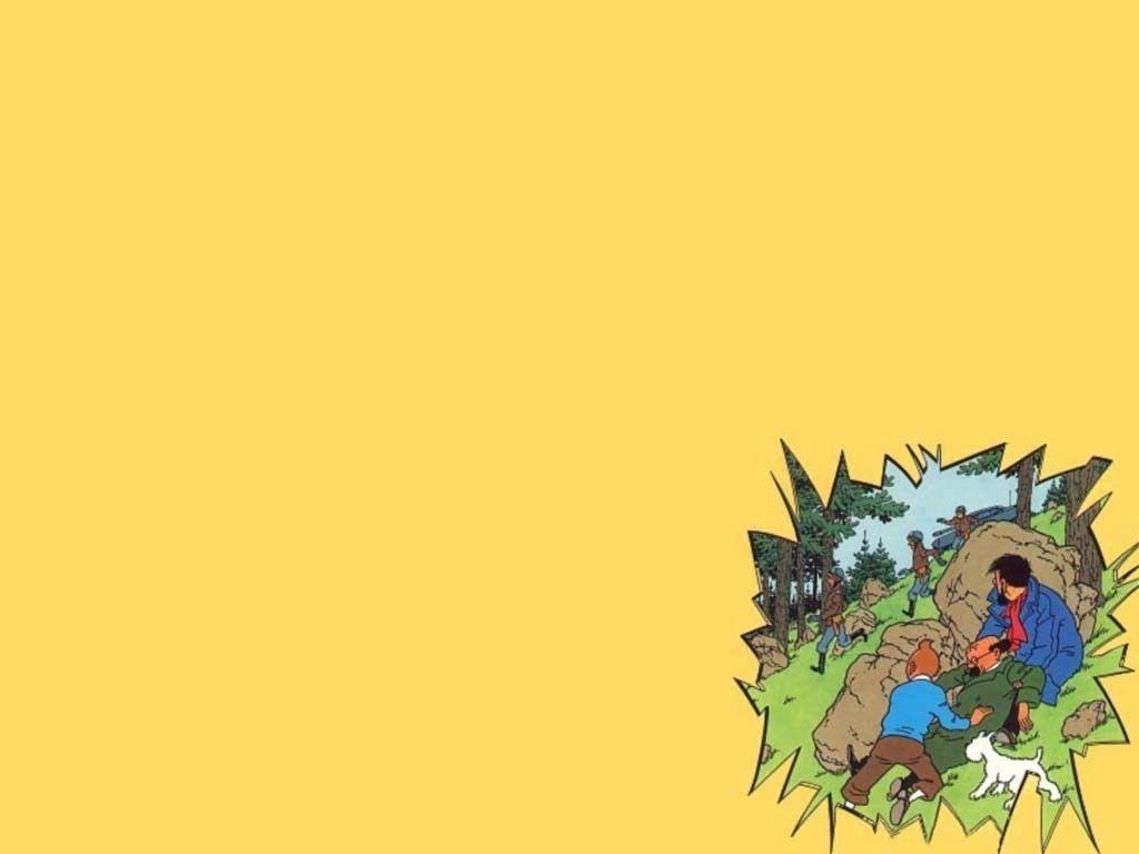 tintin and snowy wallpaper - photo #22