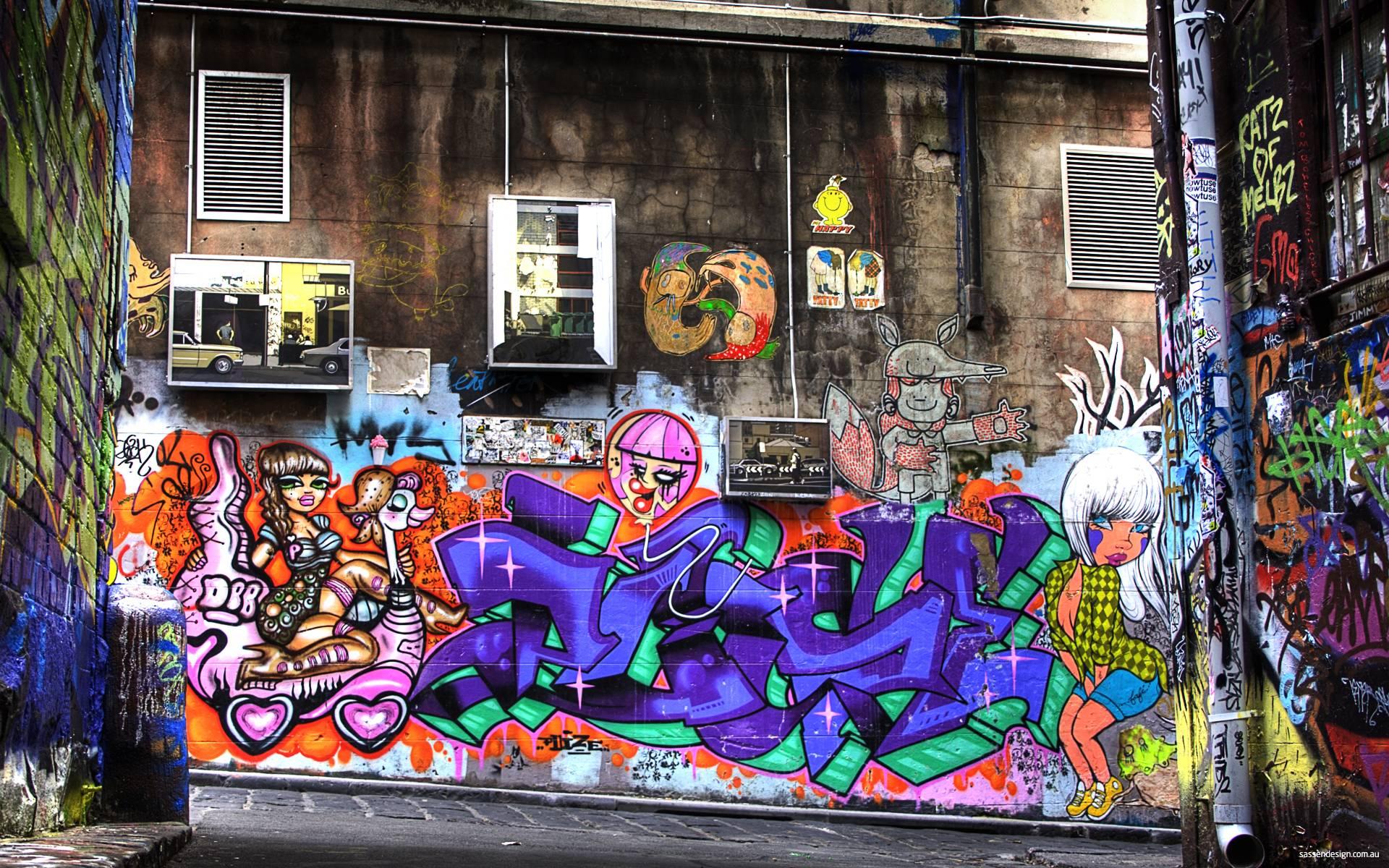 graffiti wallpaper designs - photo #37