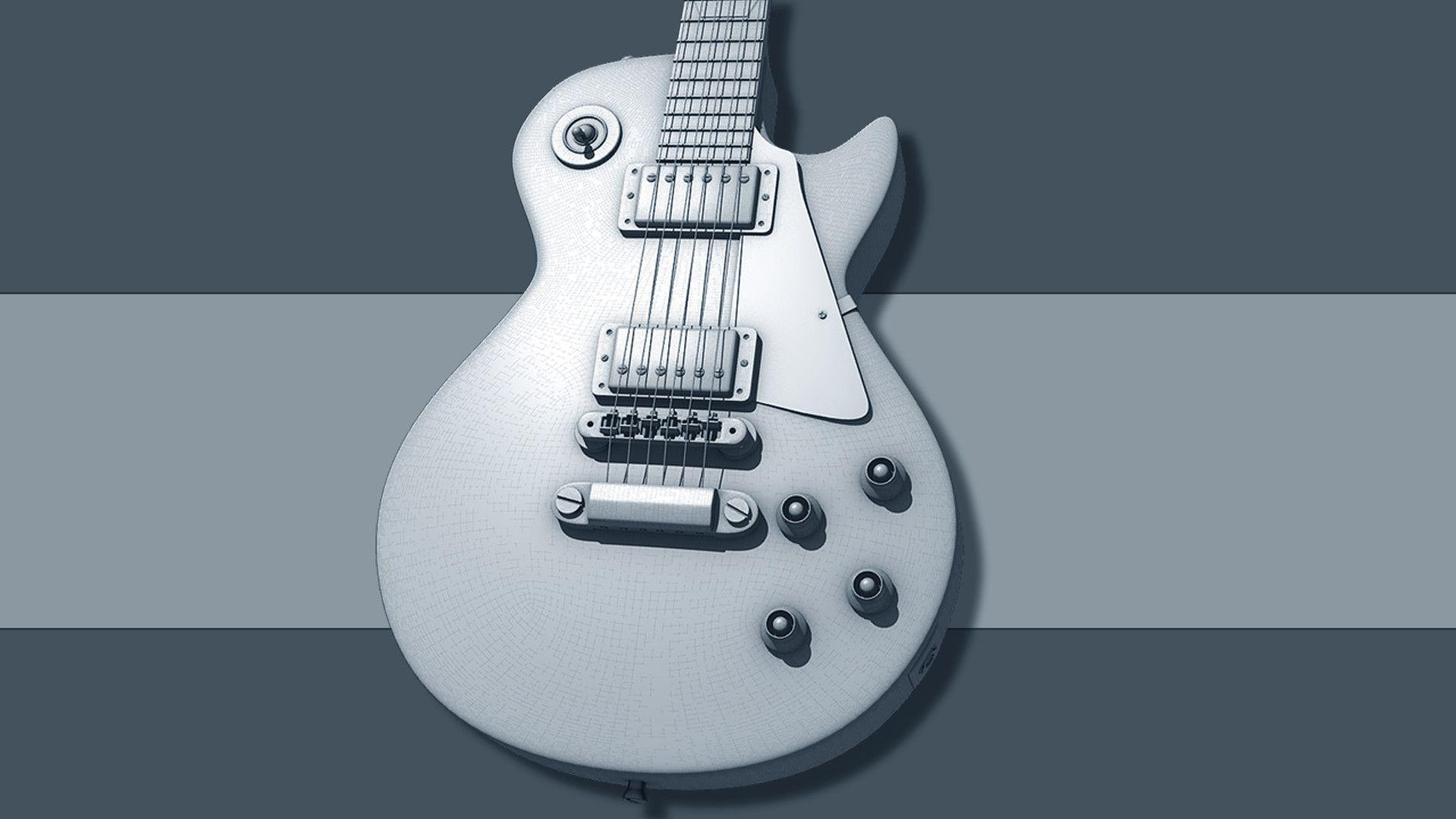 Gibson Les Paul Wallpapers by Diom3Des