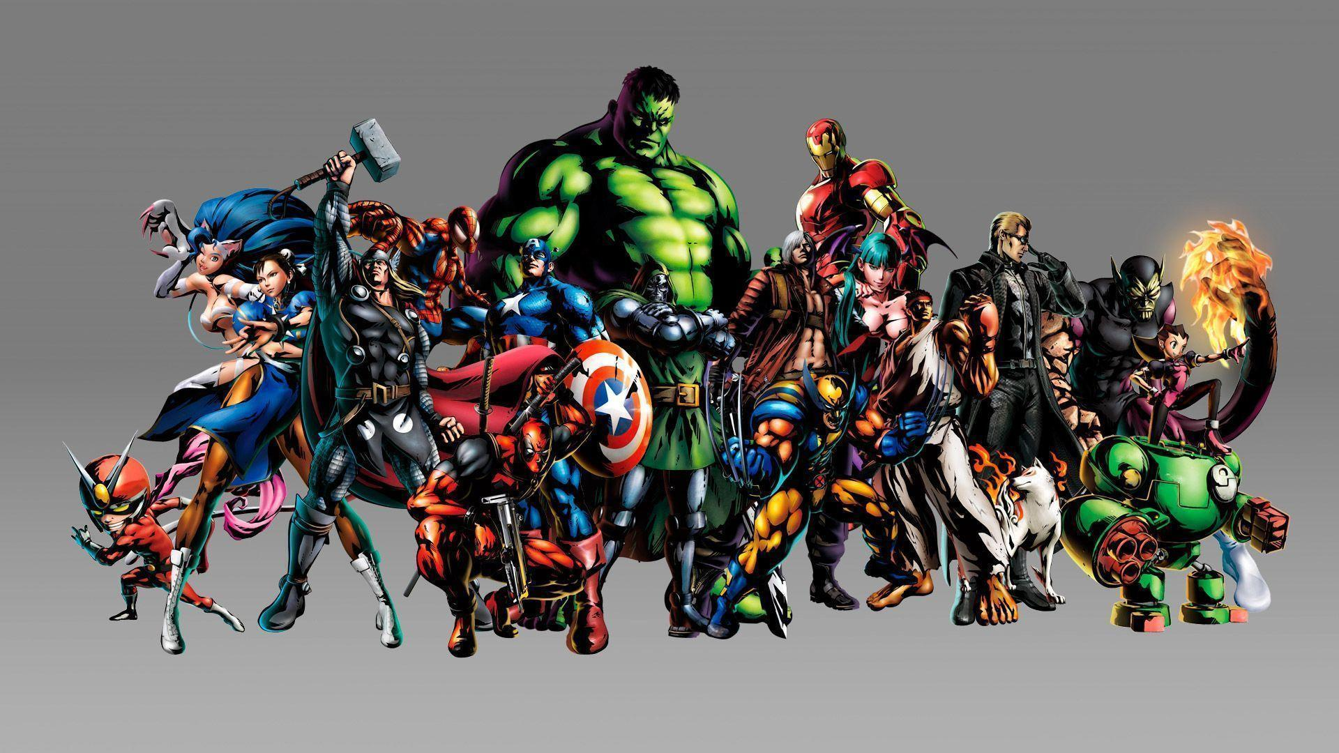 Marvel Wallpapers- All Resolutions