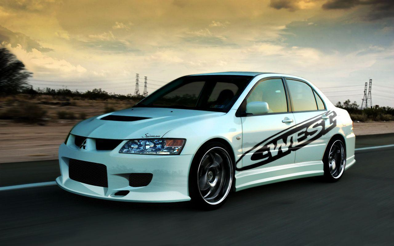 Pix For > Mitsubishi Evo 8 Wallpaper