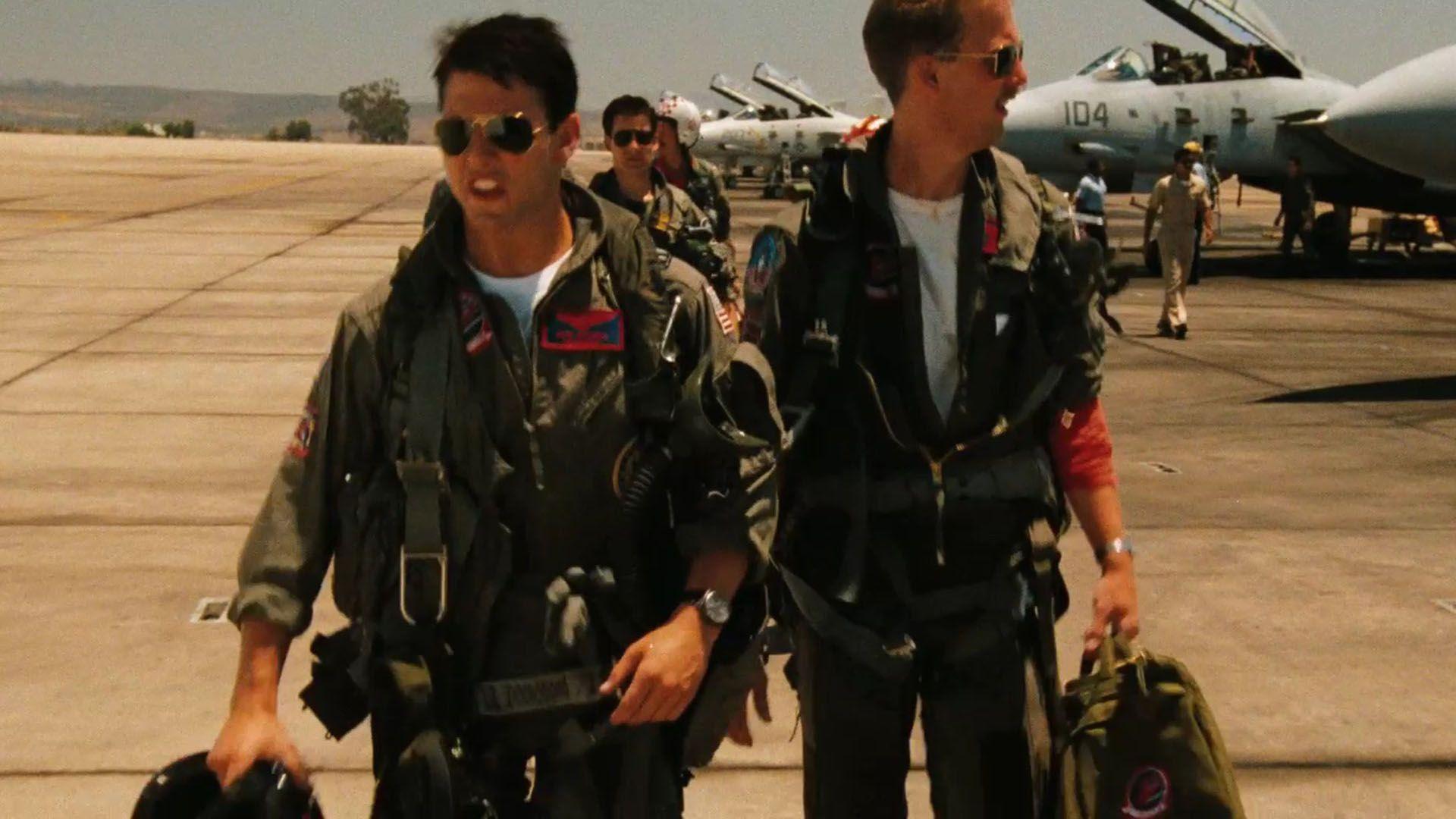 84053 Top Gun Val Kilmer Tom Cruise 8x10 Photo Cotg 8celeb Vkilm02