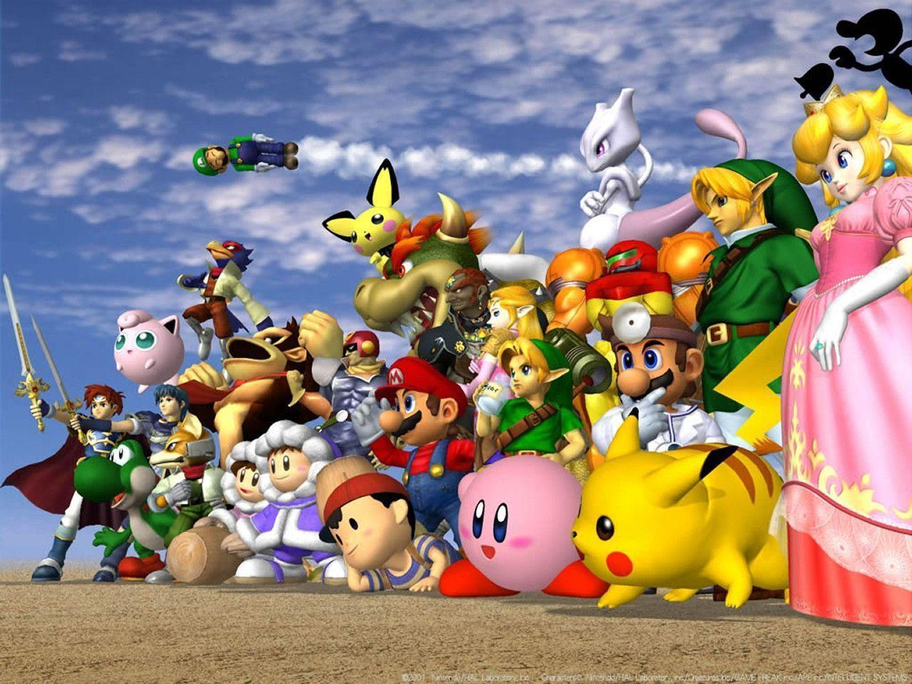 Super Smash Bros. Melee Wallpapers