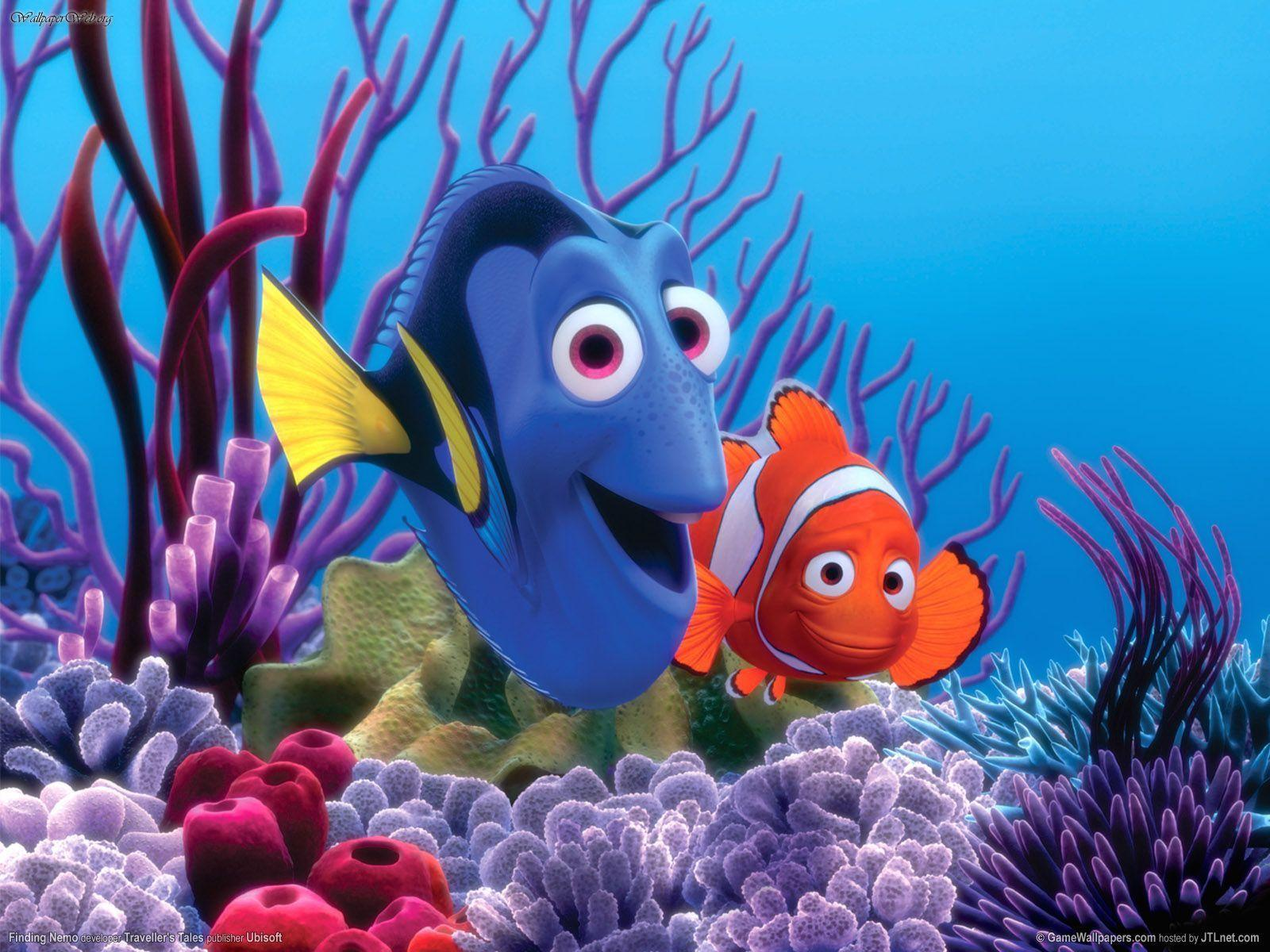 Pix For > Finding Nemo Wallpapers Just Keep Swimming
