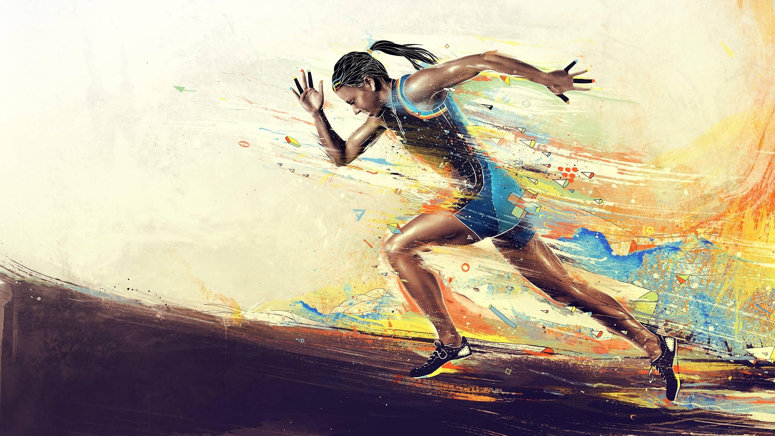 Sport Wallpaper Run: Running Desktop Backgrounds